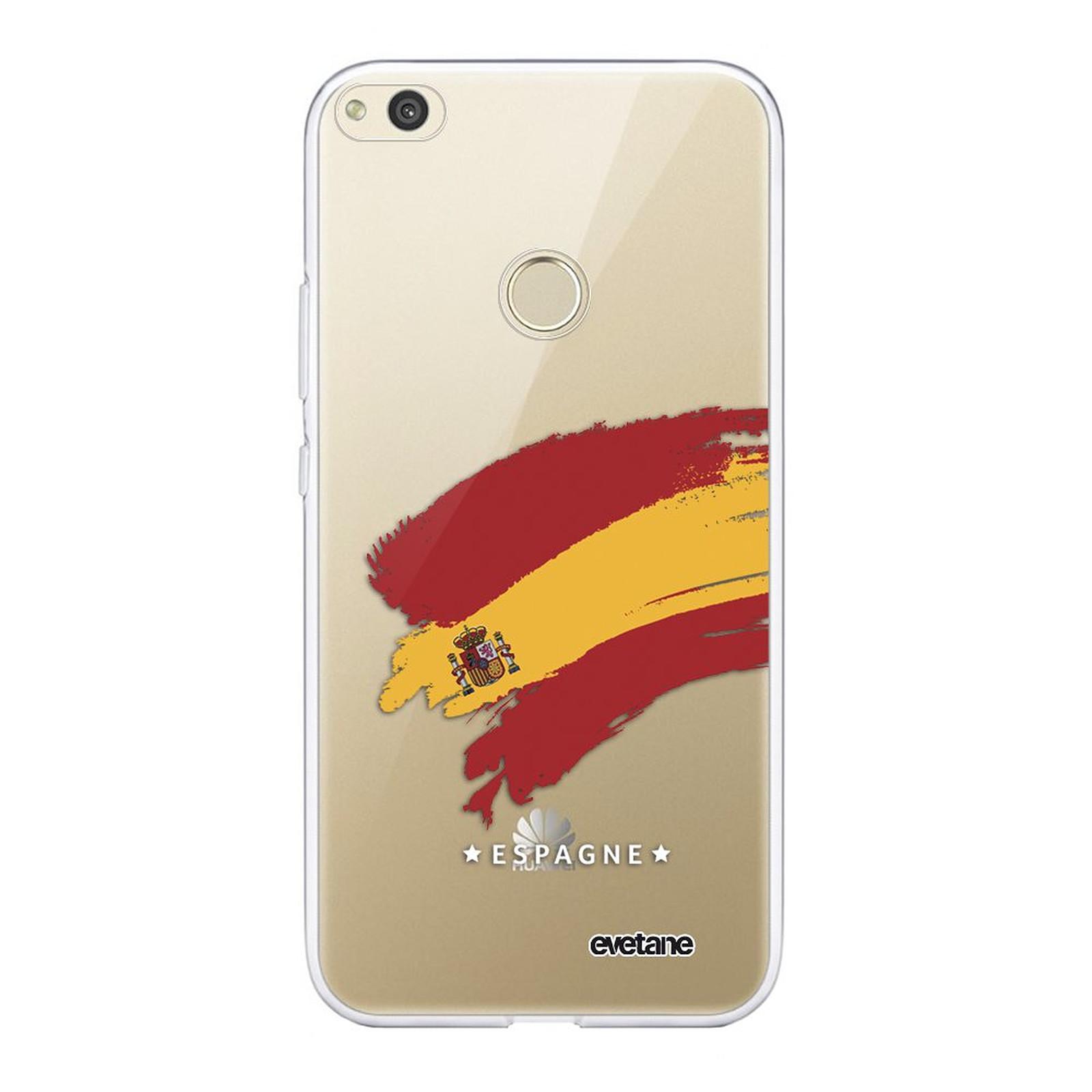 EVETANE Coque Huawei P8 lite 2017 souple transparente Espagne - Coque téléphone Evetane sur LDLC