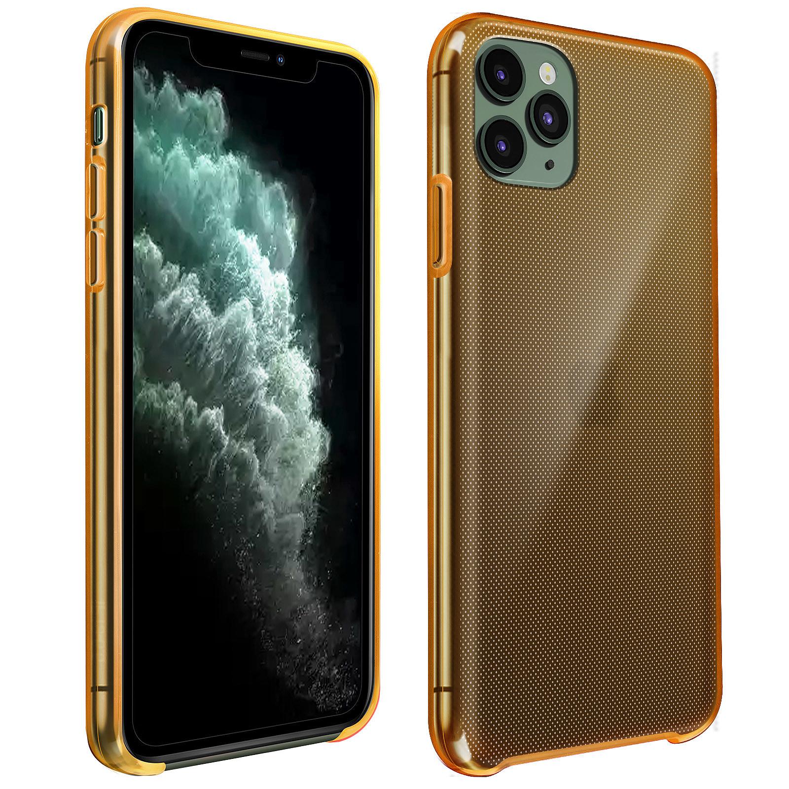 coque apple jaune iphone 7