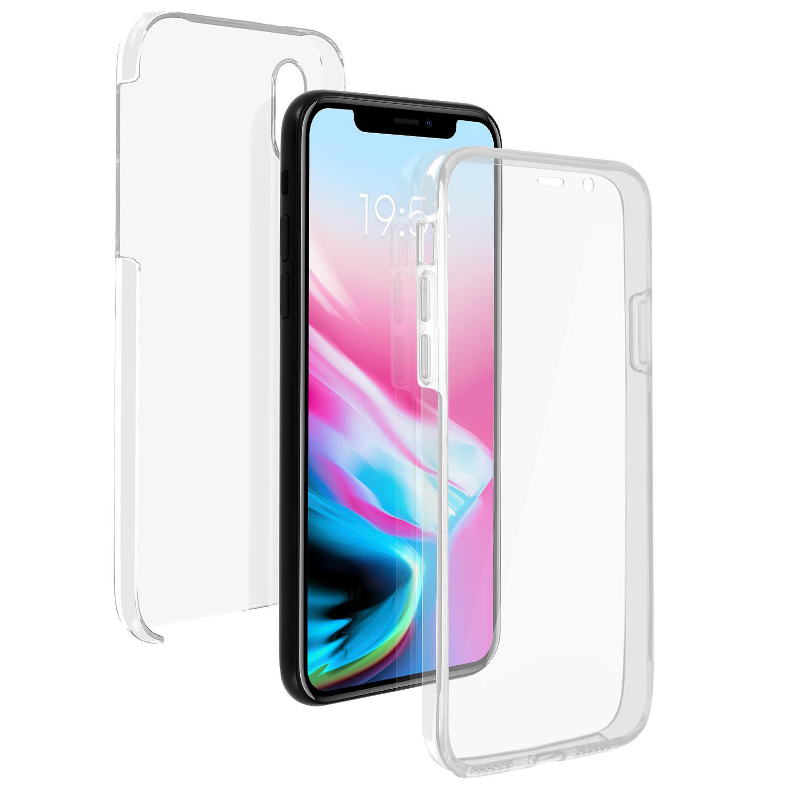 Avizar Coque Transparent Intégrale pour Apple iPhone X , Apple iPhone XS
