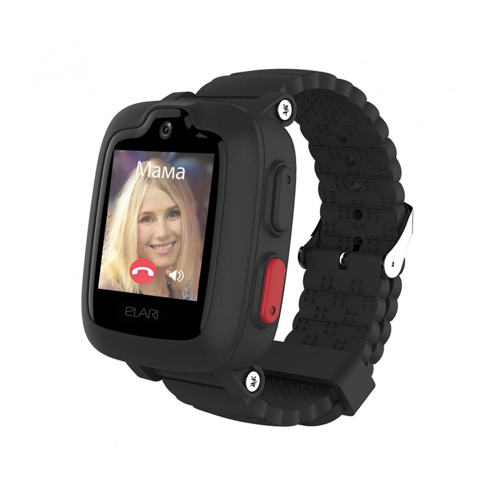 Elari Montre connectée pour enfant 3G GPS Elari Kidphone 3G Noir