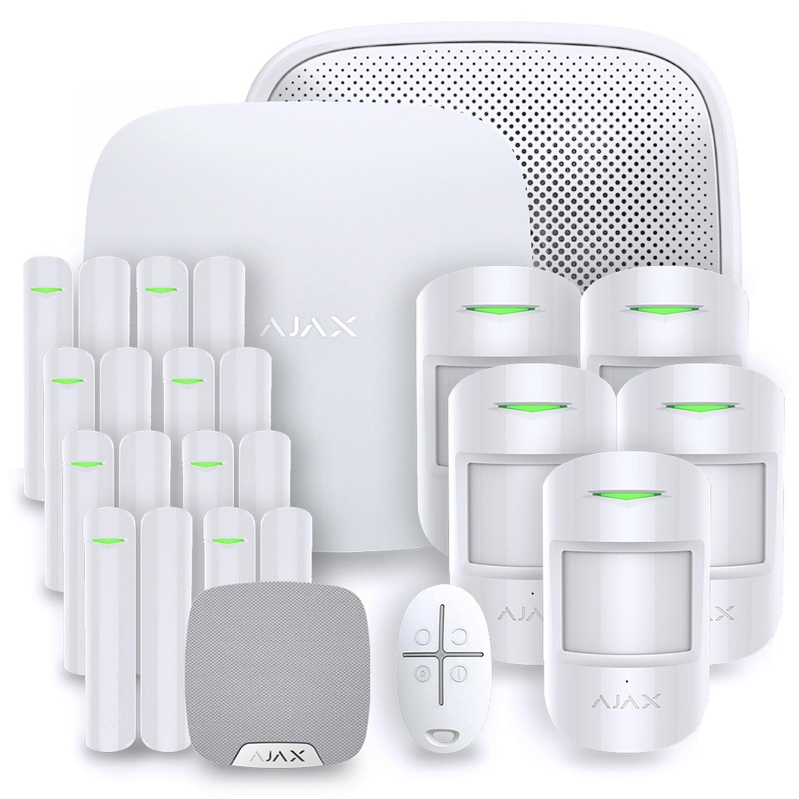 Ajax Alarme maison StarterKit blanc  Kit 6