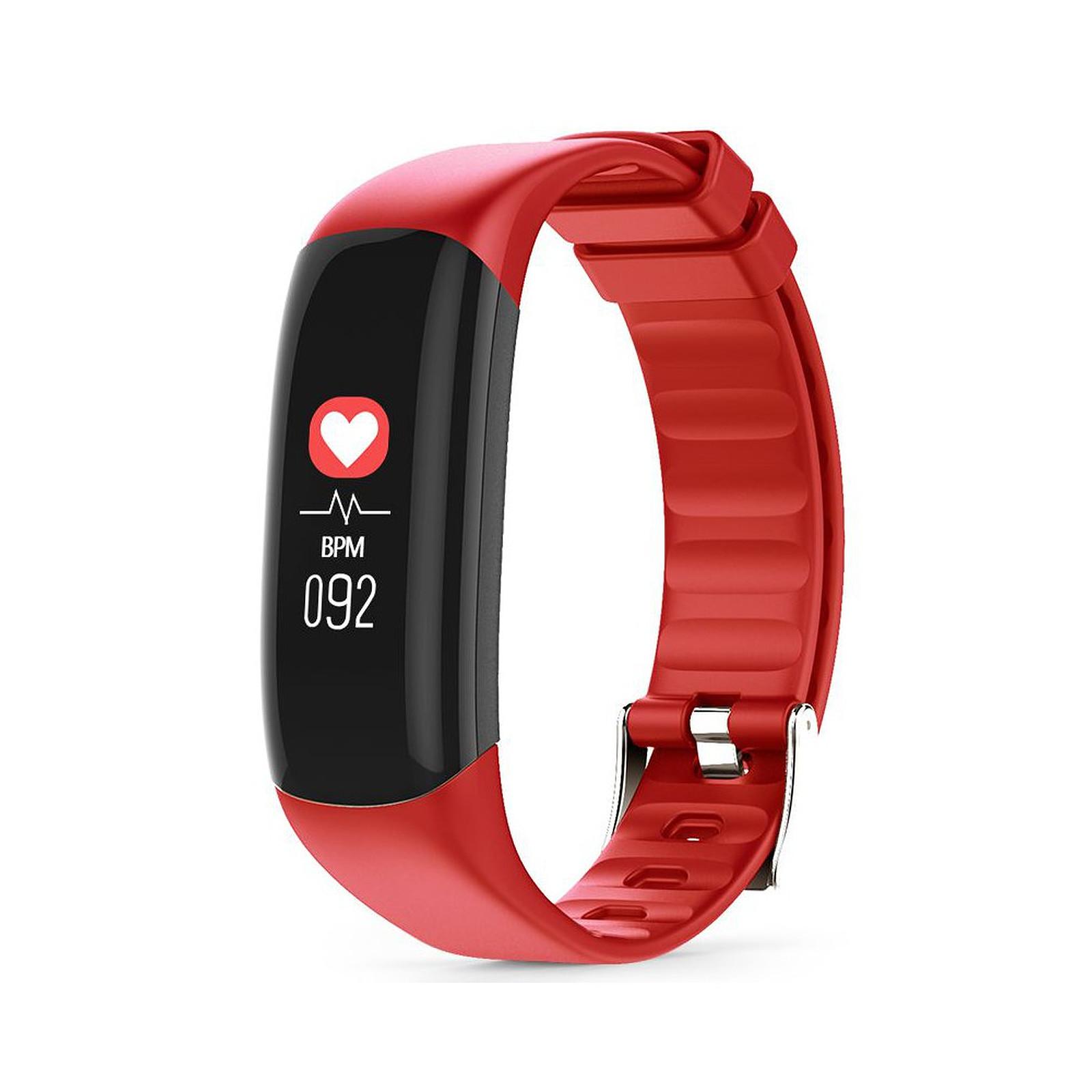 Cellys Bracelet connecté cardio Easyfit Rouge