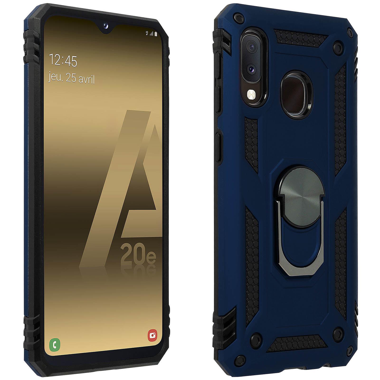 Avizar Coque Bleu Nuit pour Samsung Galaxy A20e