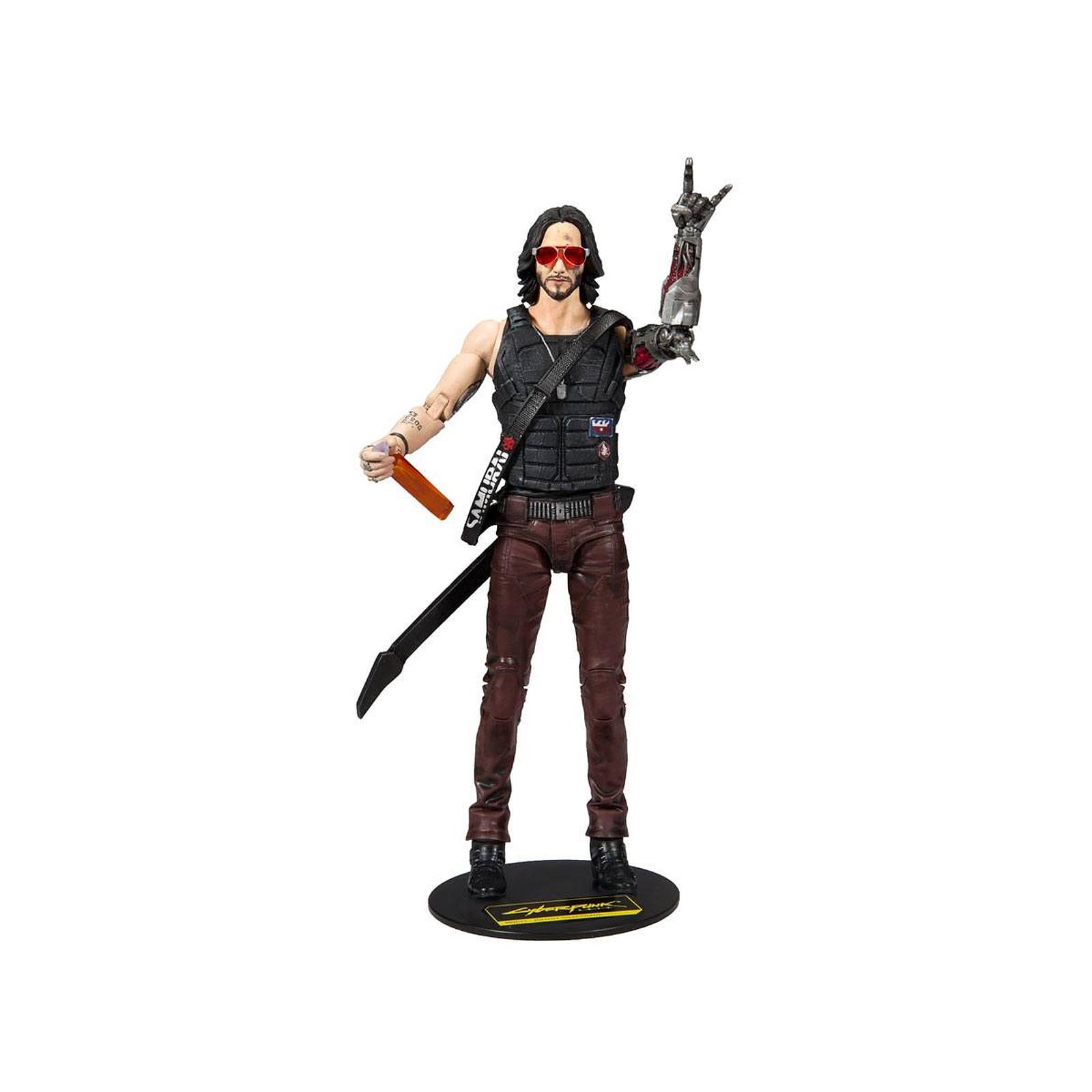Cyberpunk 2077 - Figurine Johnny Silverhand 18 cm