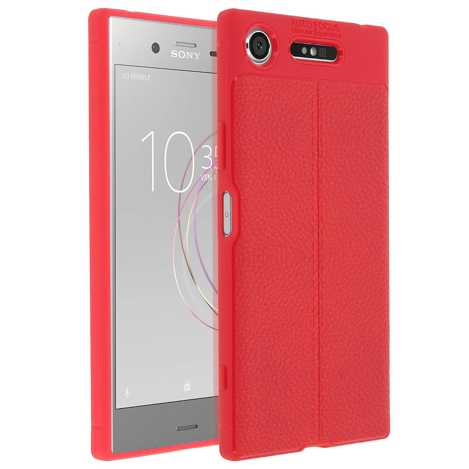 Avizar Coque Rouge pour Sony Xperia XZ1