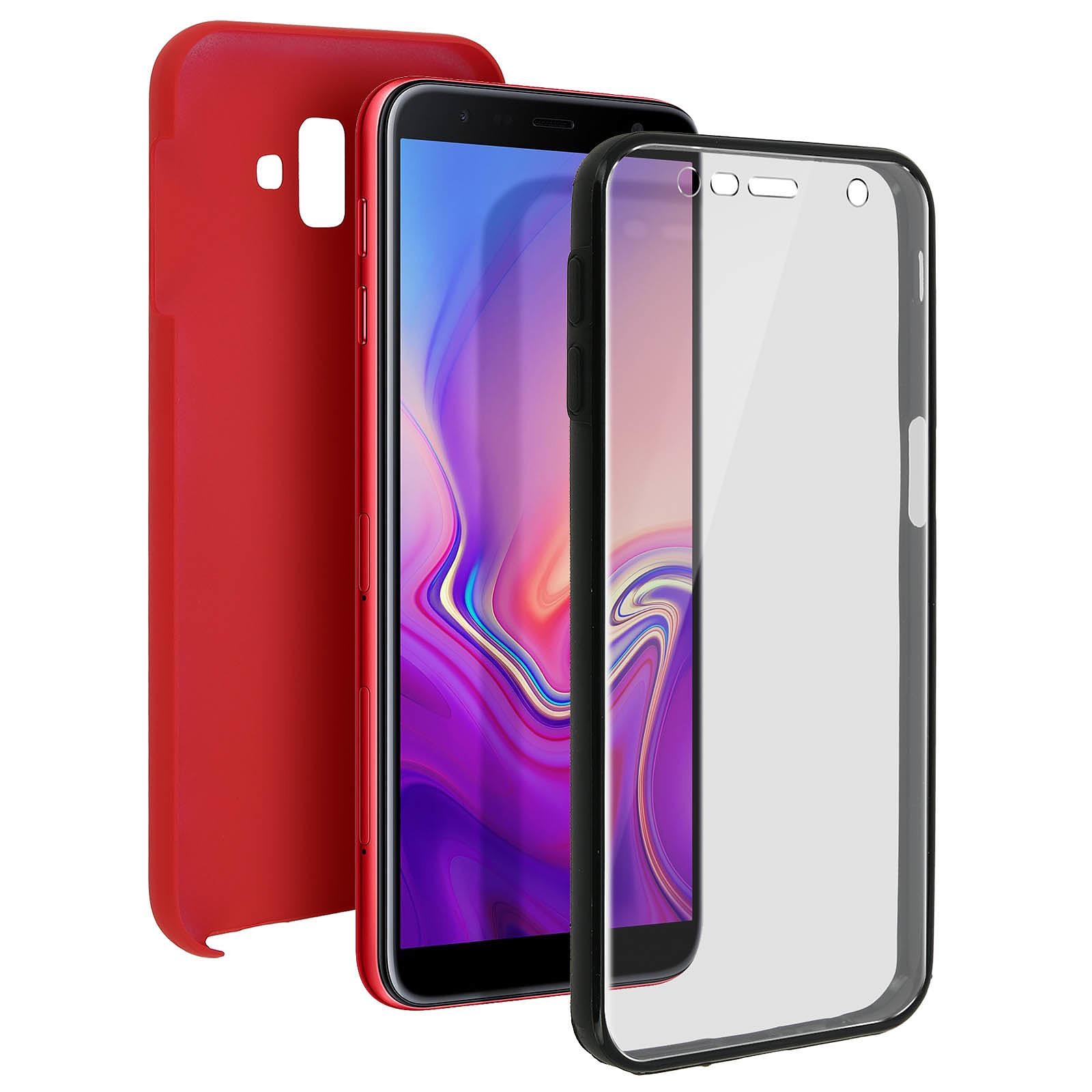 Avizar Coque Rouge pour Samsung Galaxy J6 Plus