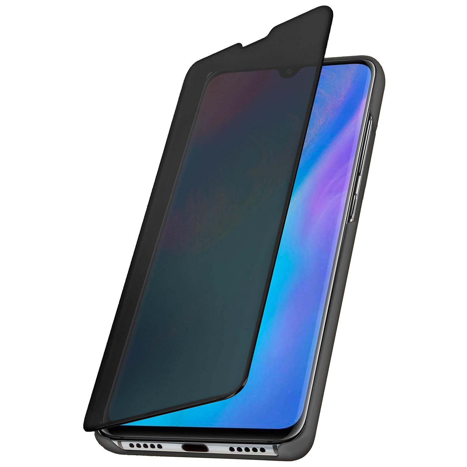 Avizar Etui folio Noir pour Huawei P30 Pro