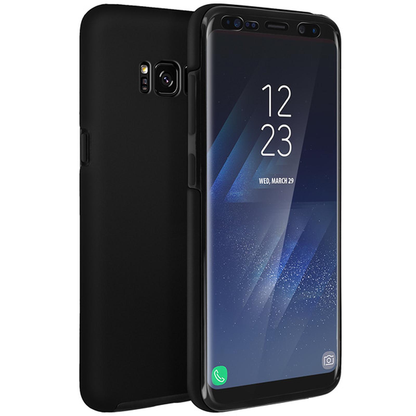 Avizar Coque Noir pour Samsung Galaxy S8