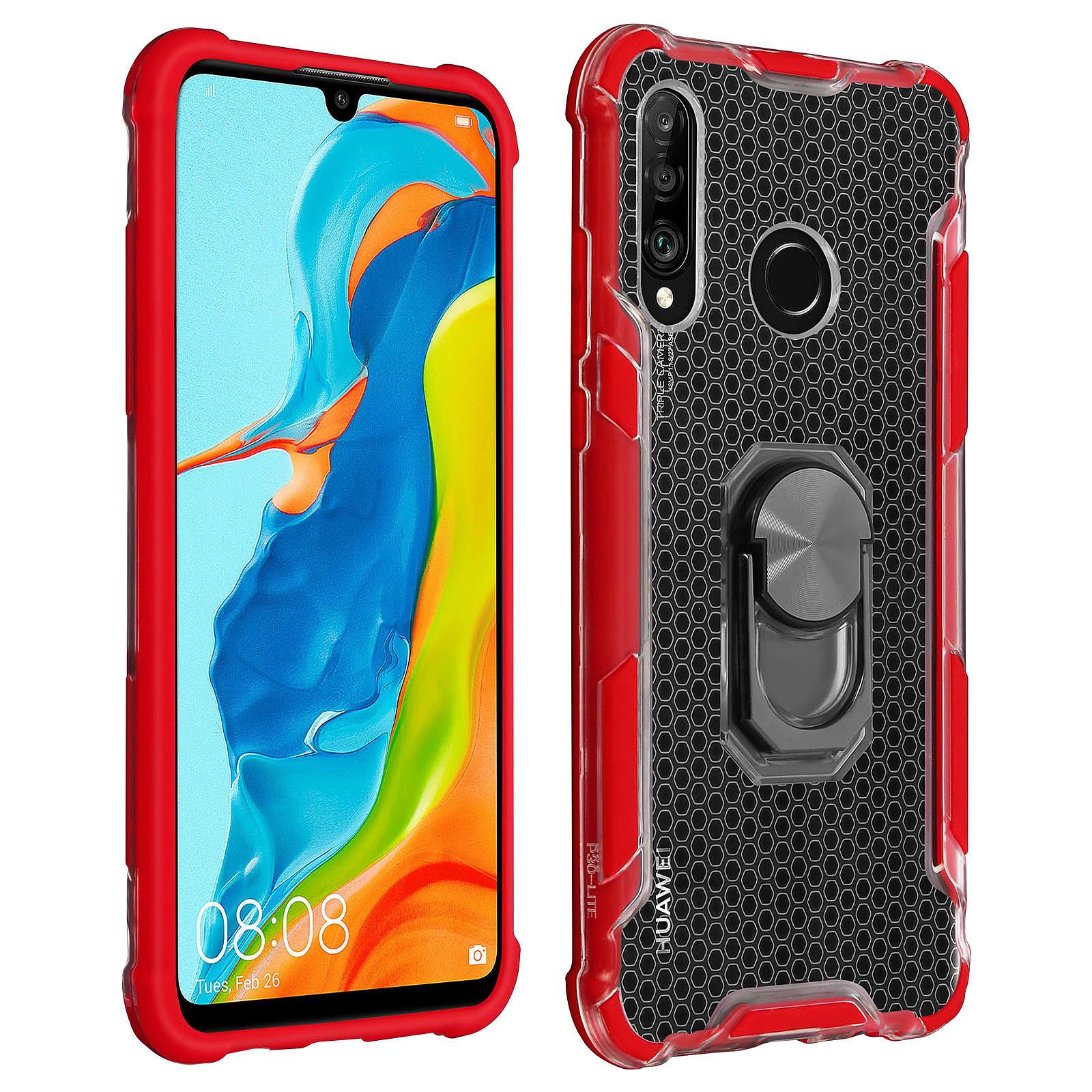 Avizar Coque Rouge pour Huawei P30 Lite , Honor 20S , Huawei P30 Lite XL