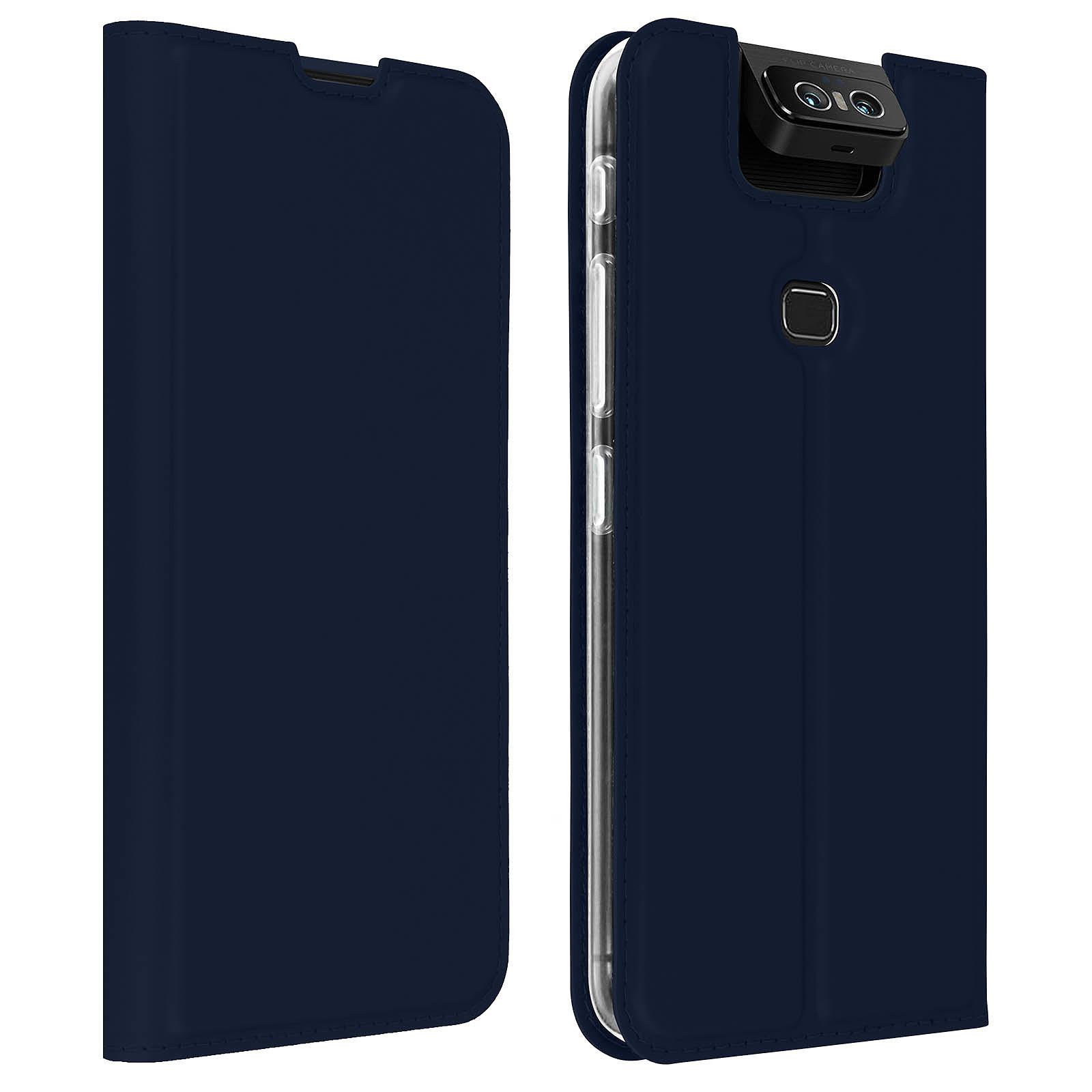 Avizar Etui folio Bleu Nuit pour Asus ZenFone 6