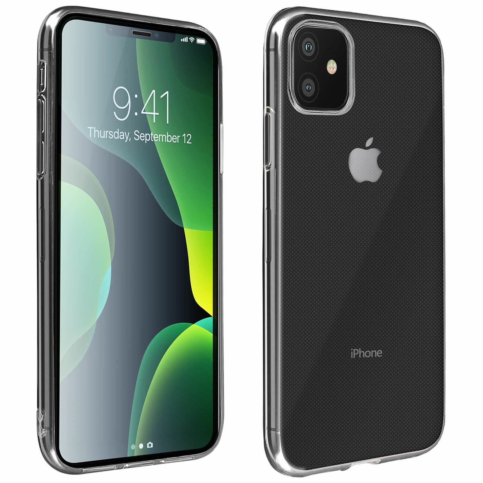 Avizar Pack protection Noir pour Apple iPhone 11