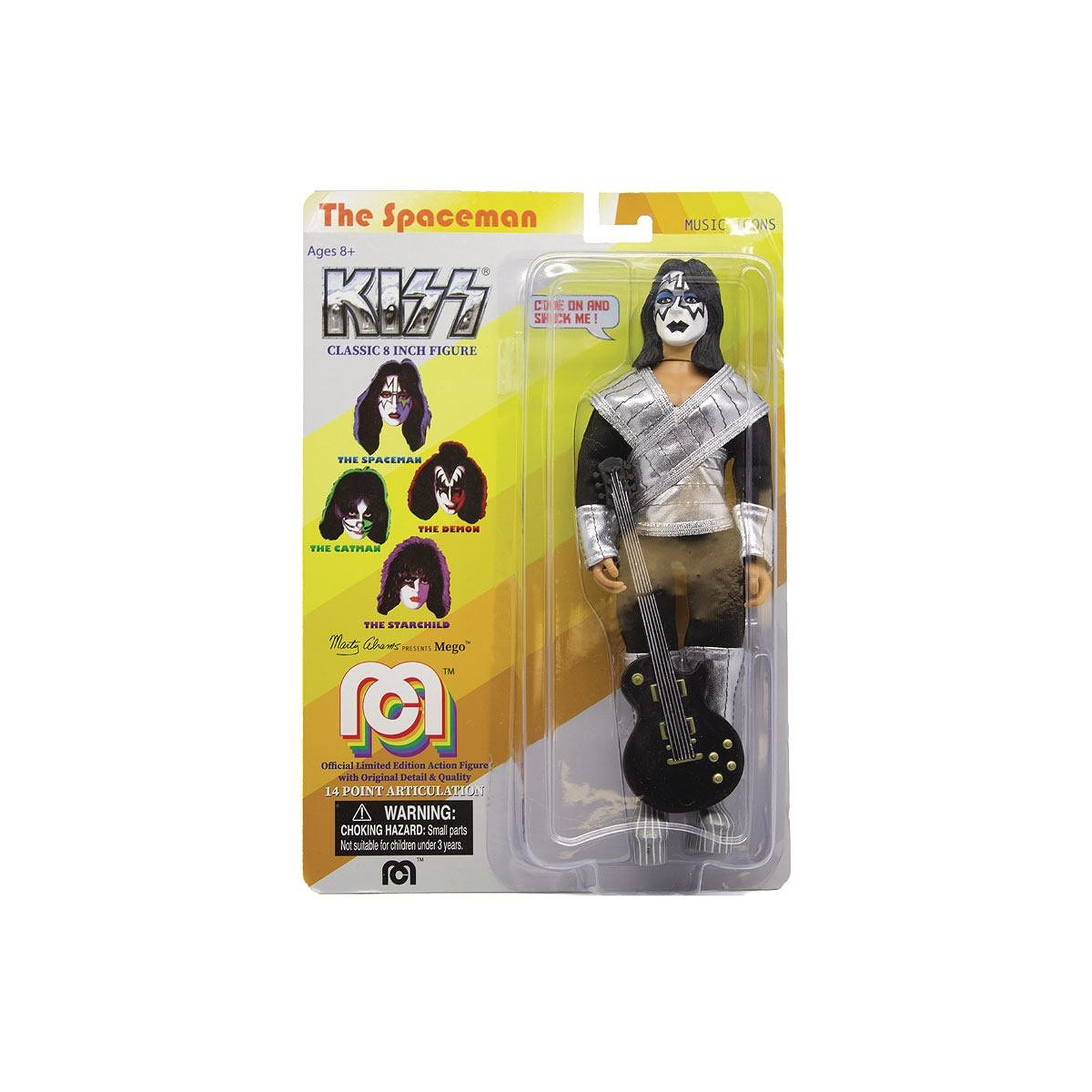 Kiss - Figurine Love Gun Spaceman 20 cm