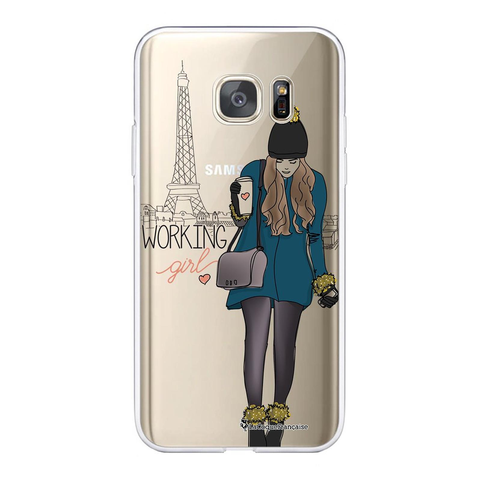 LA COQUE FRANCAISE Coque Samsung Galaxy S7 souple transparente Working girl - Coque téléphone LaCoqueFrançaise sur LDLC