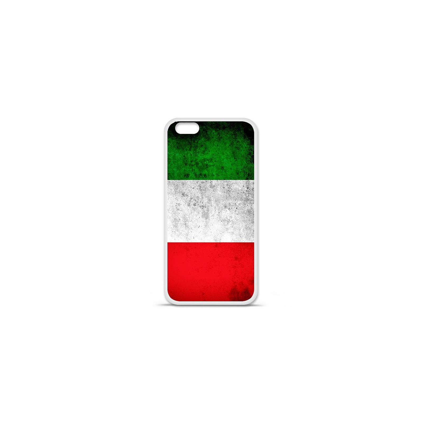 1001 Coques Coque silicone gel Apple IPhone 7 Plus motif Drapeau Italie