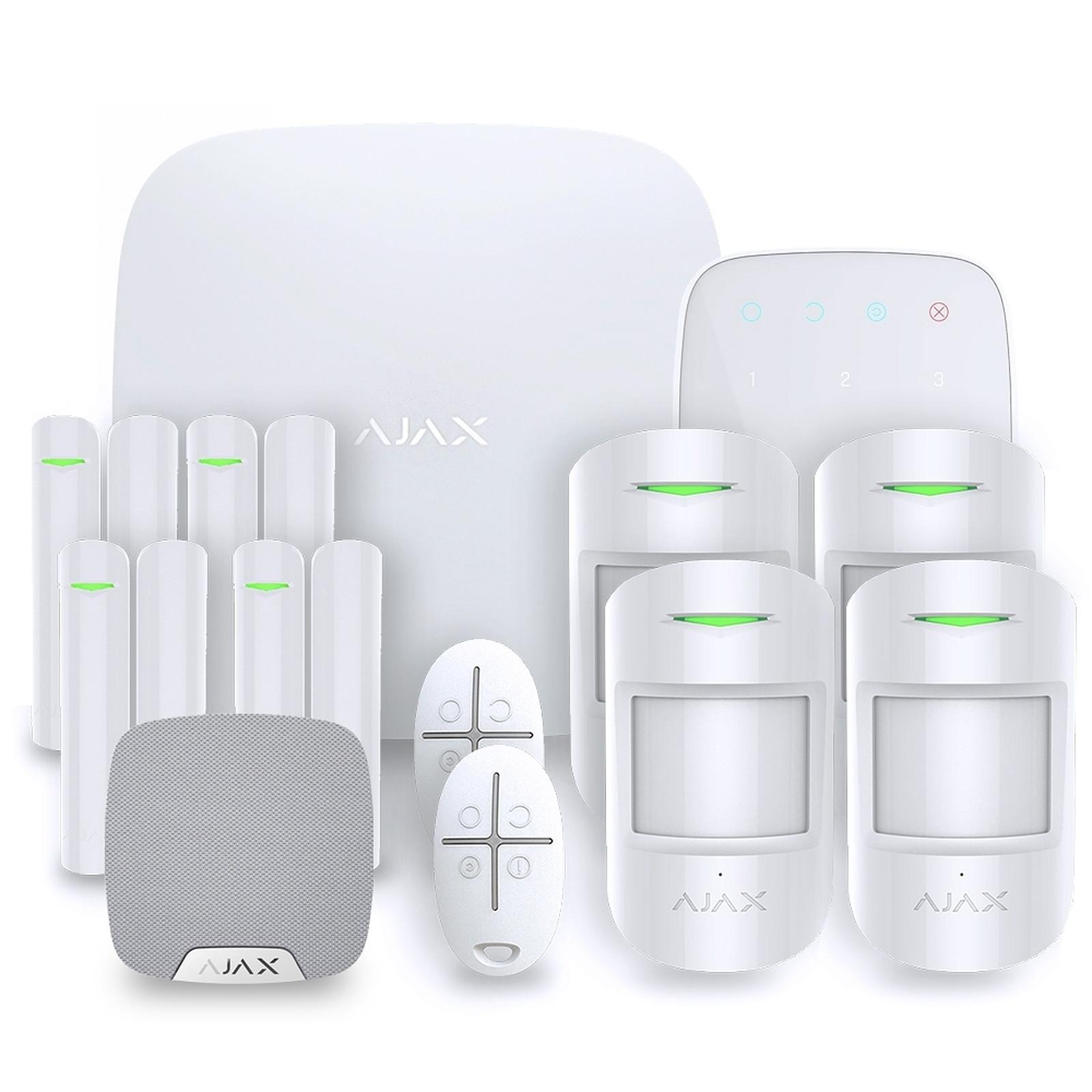 Ajax Alarme maison StarterKit blanc  Kit 4