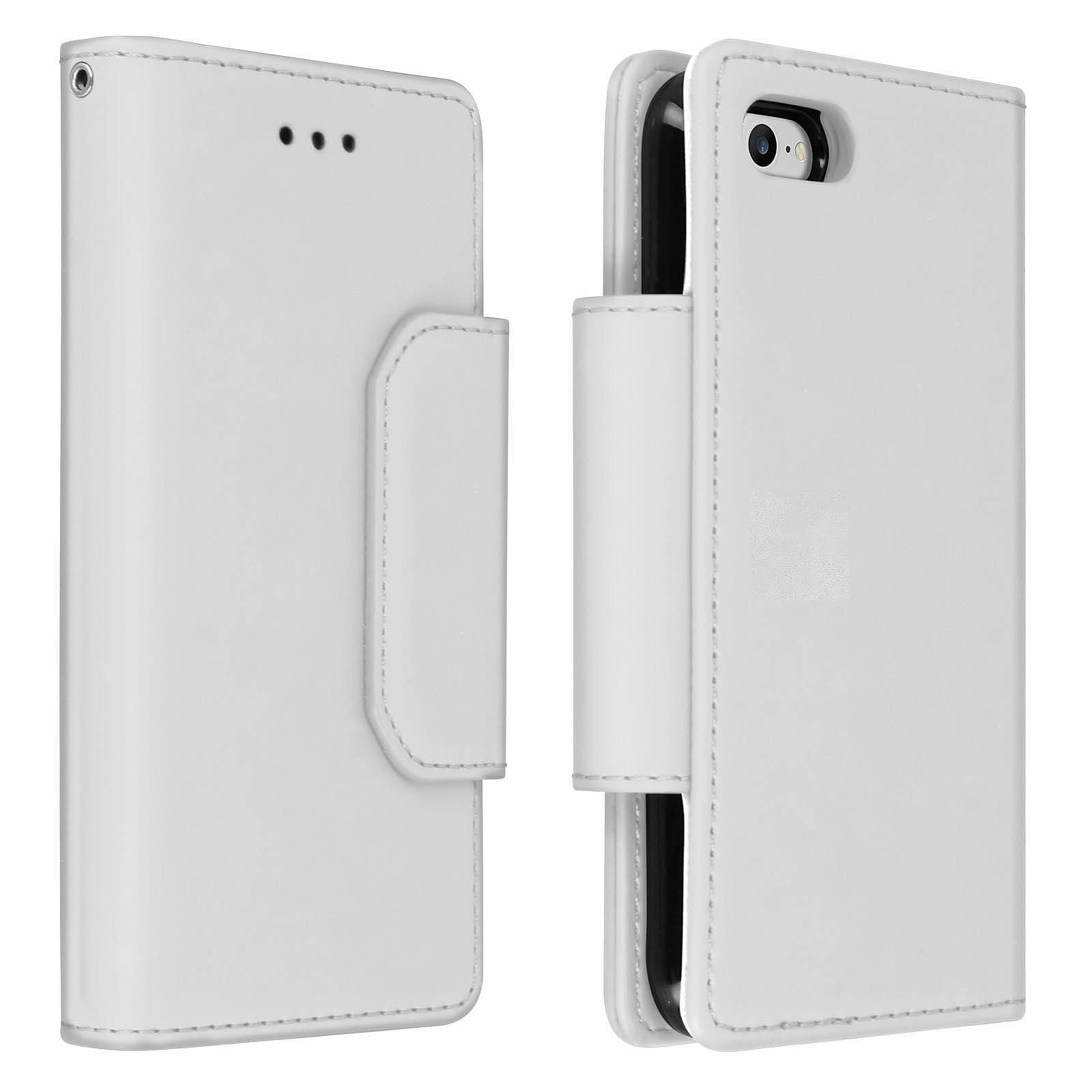 Avizar Etui folio Argent pour Apple iPhone 7 , Apple iPhone 8 , Apple iPhone SE 2020
