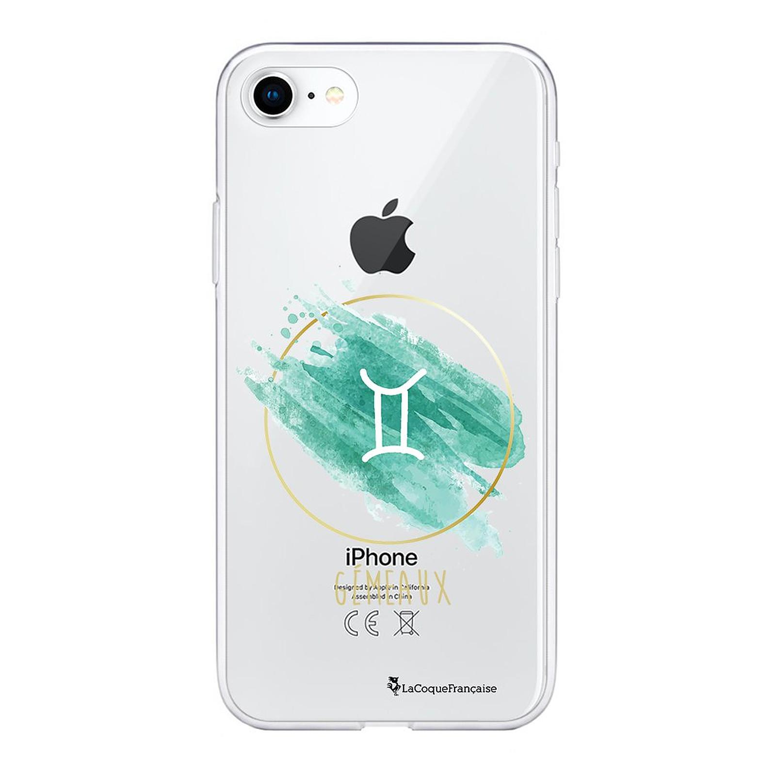 LA COQUE FRANCAISE Coque iPhone 7/8/ iPhone SE 2020 souple transparente Gémeaux - Coque téléphone LaCoqueFrançaise sur LDLC