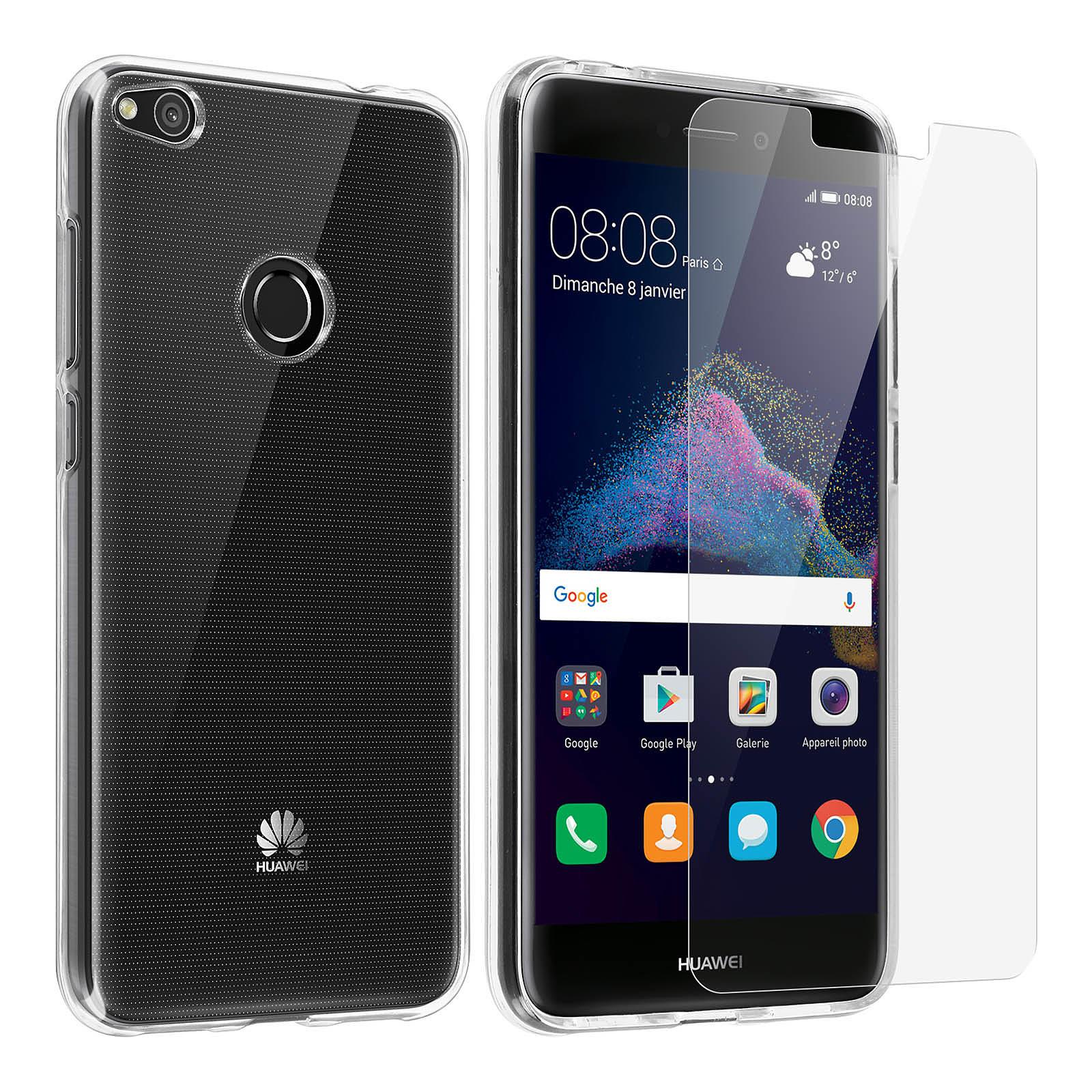 Avizar Coque Transparent pour Huawei P8 Lite (2017) , Honor 8 Lite