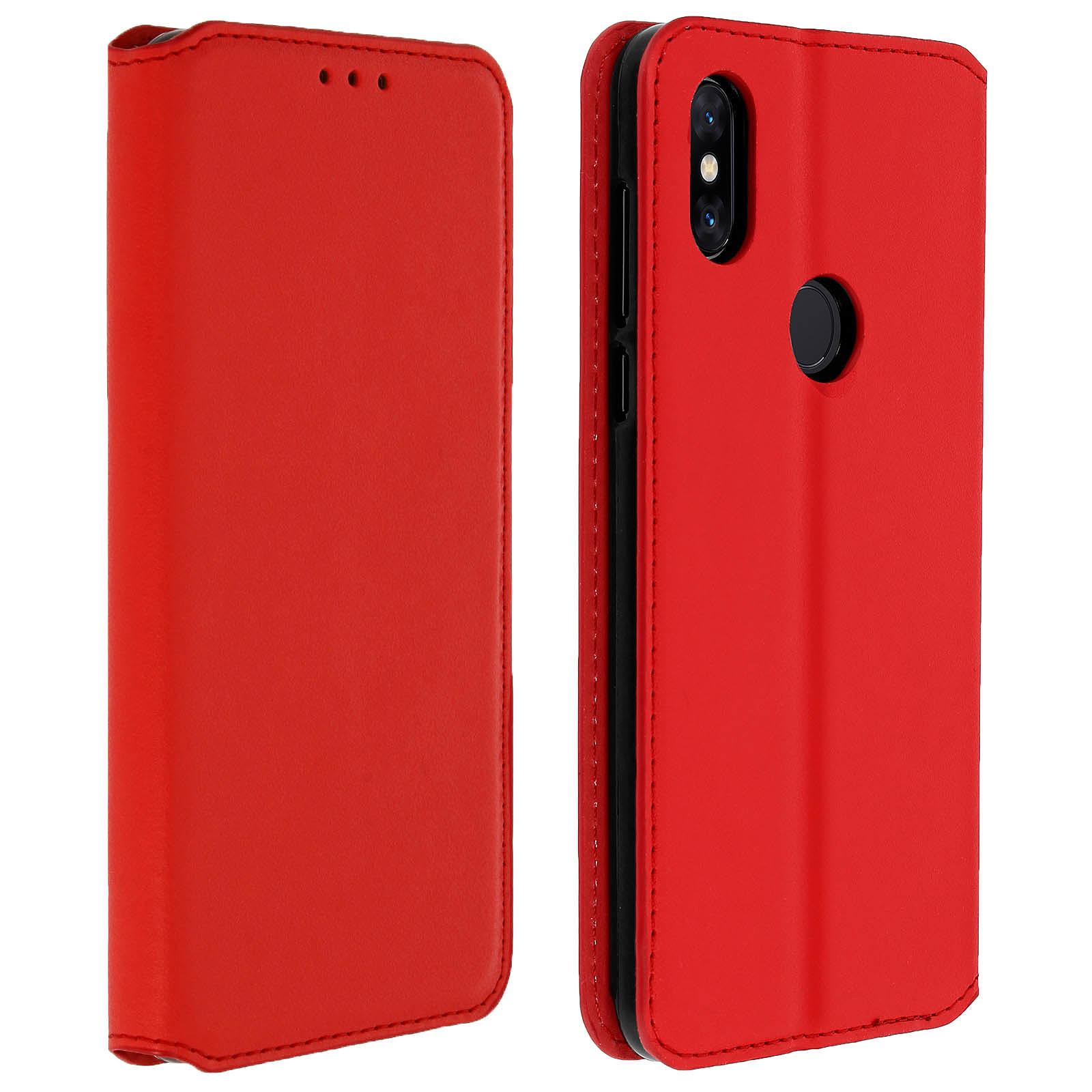 Avizar Etui folio Rouge pour Xiaomi Mi Mix 3