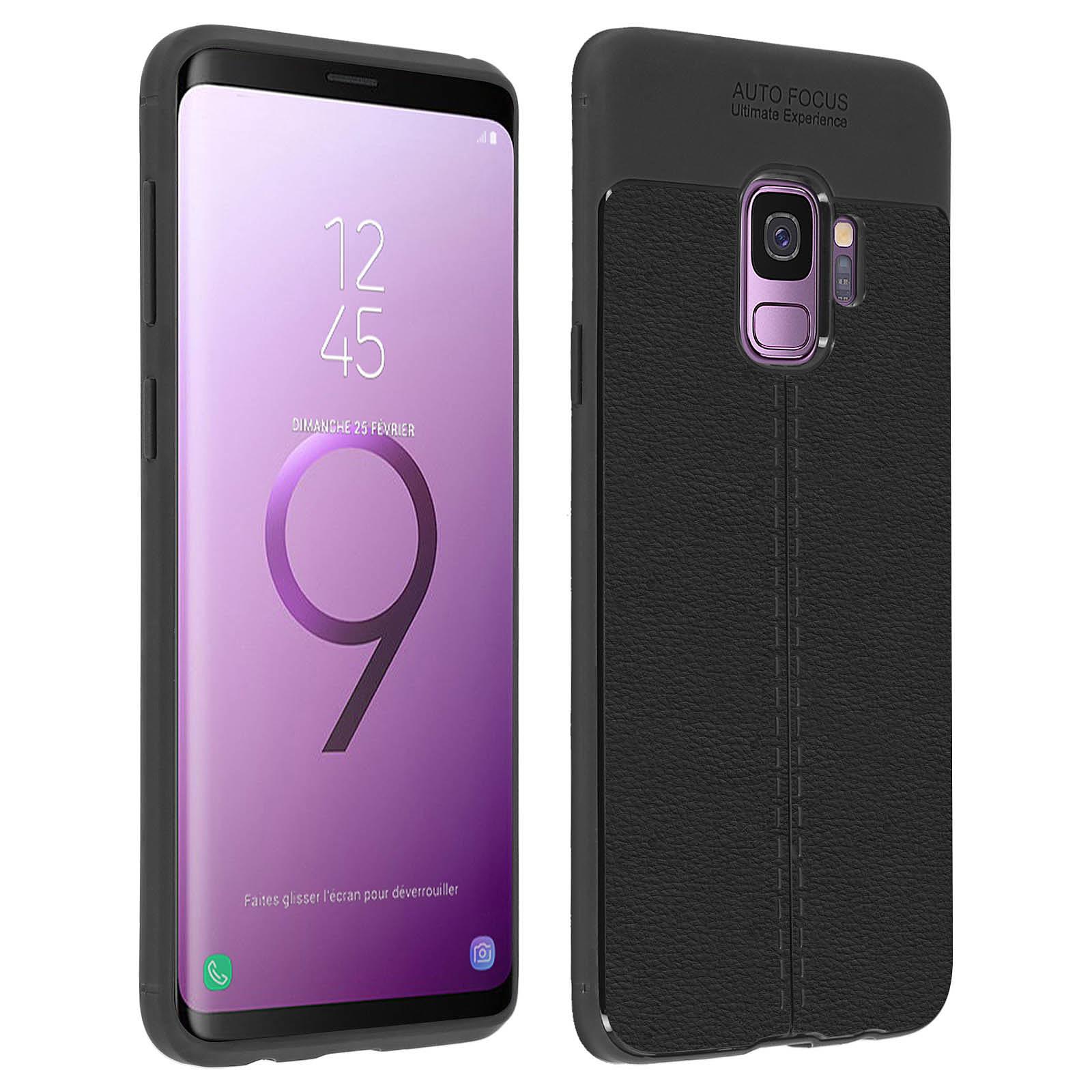 Avizar Coque Noir pour Samsung Galaxy S9