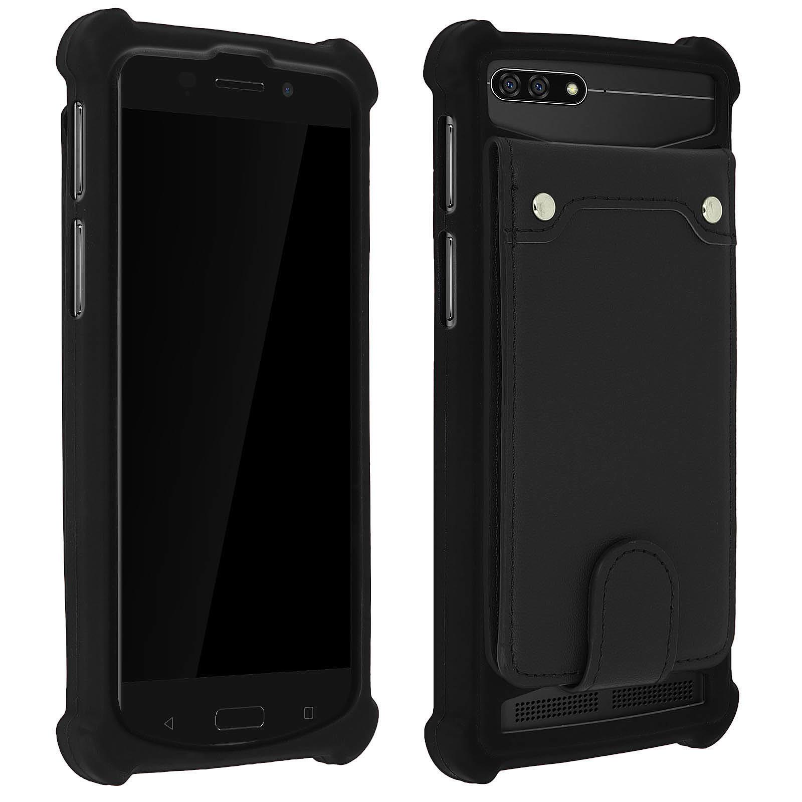 Avizar Coque Noir pour Compatibles avec Smartphones de 5,0 à 5,3 pouces