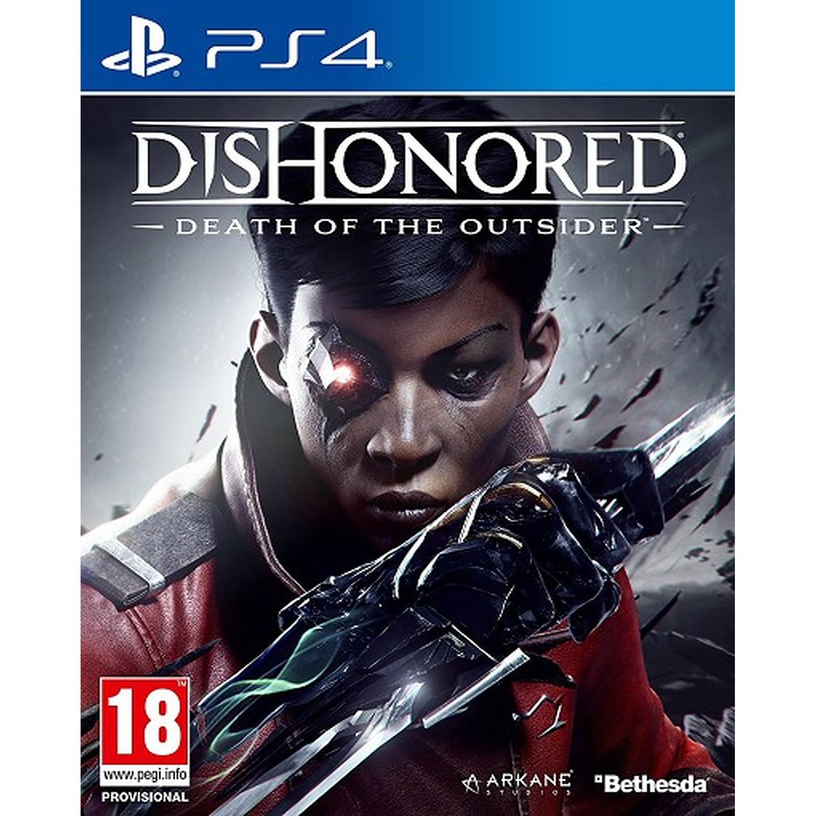Dishonored La Mort de l Outsider (PS4)