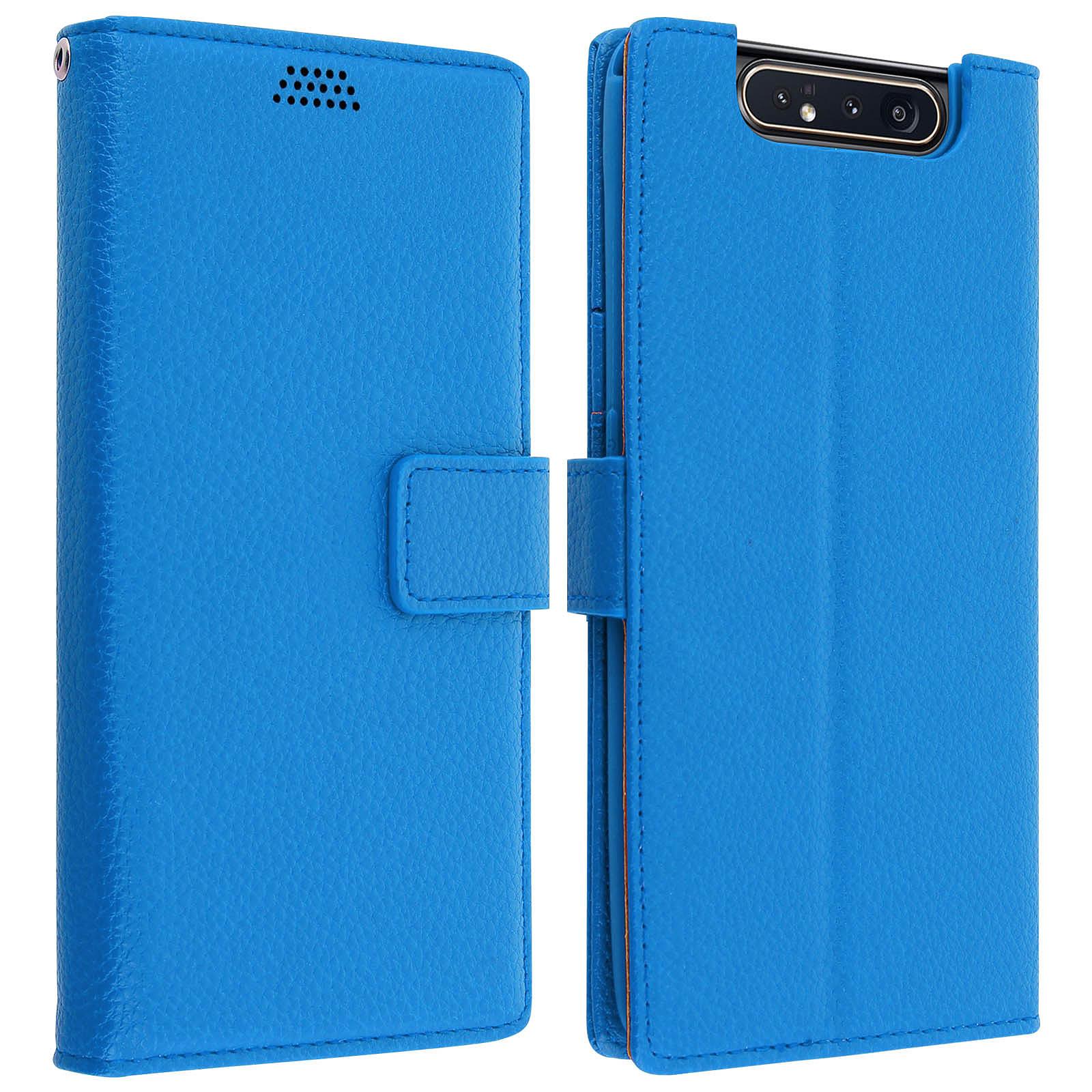 Avizar Etui folio Bleu pour Samsung Galaxy A80