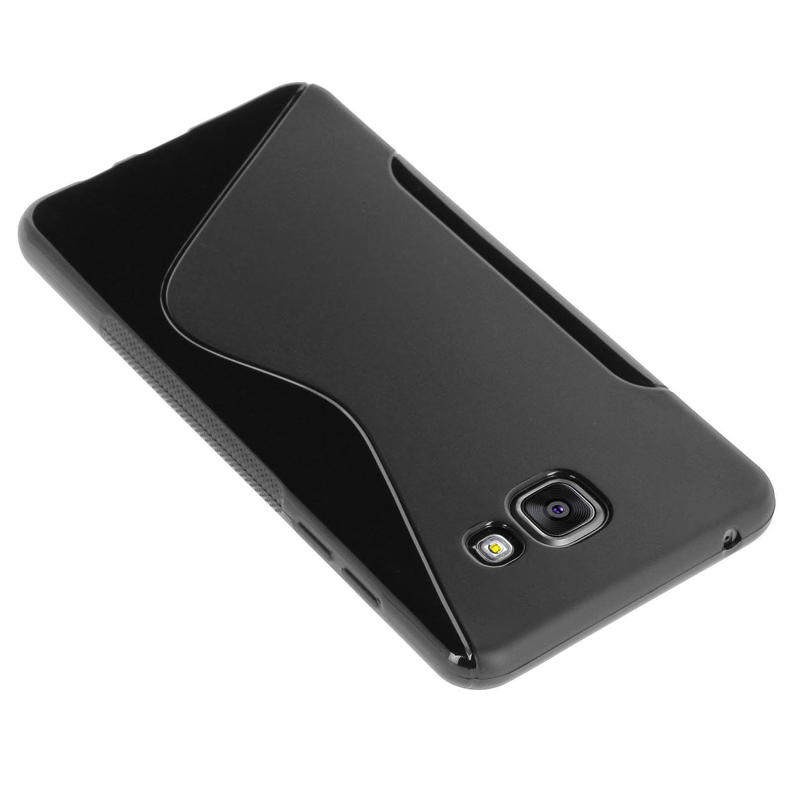 Avizar Coque Noir pour Samsung Galaxy A5 2016