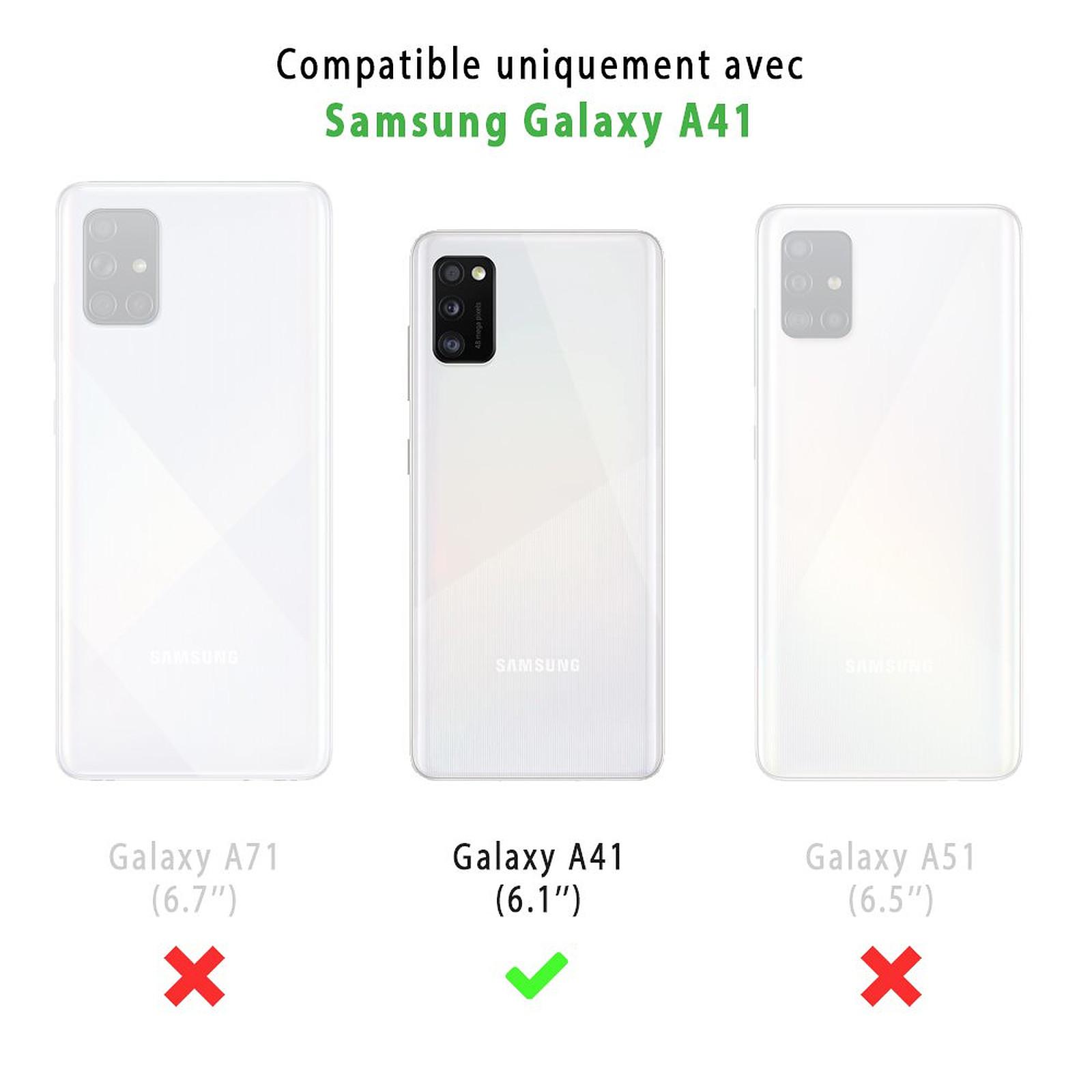 EVETANE Coque Samsung Galaxy A41 souple transparente Italie