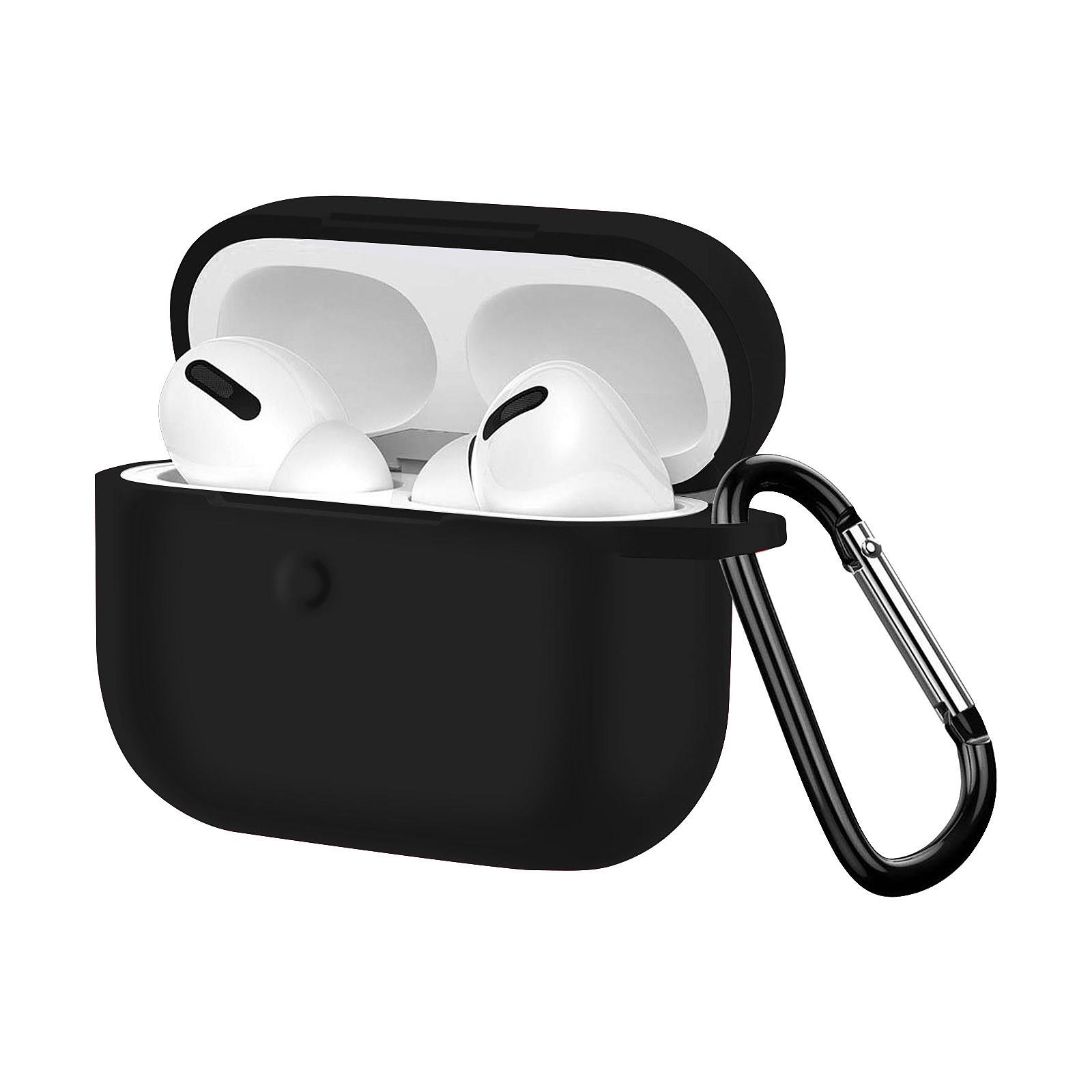 Avizar Coque Noir pour Apple AirPods Pro