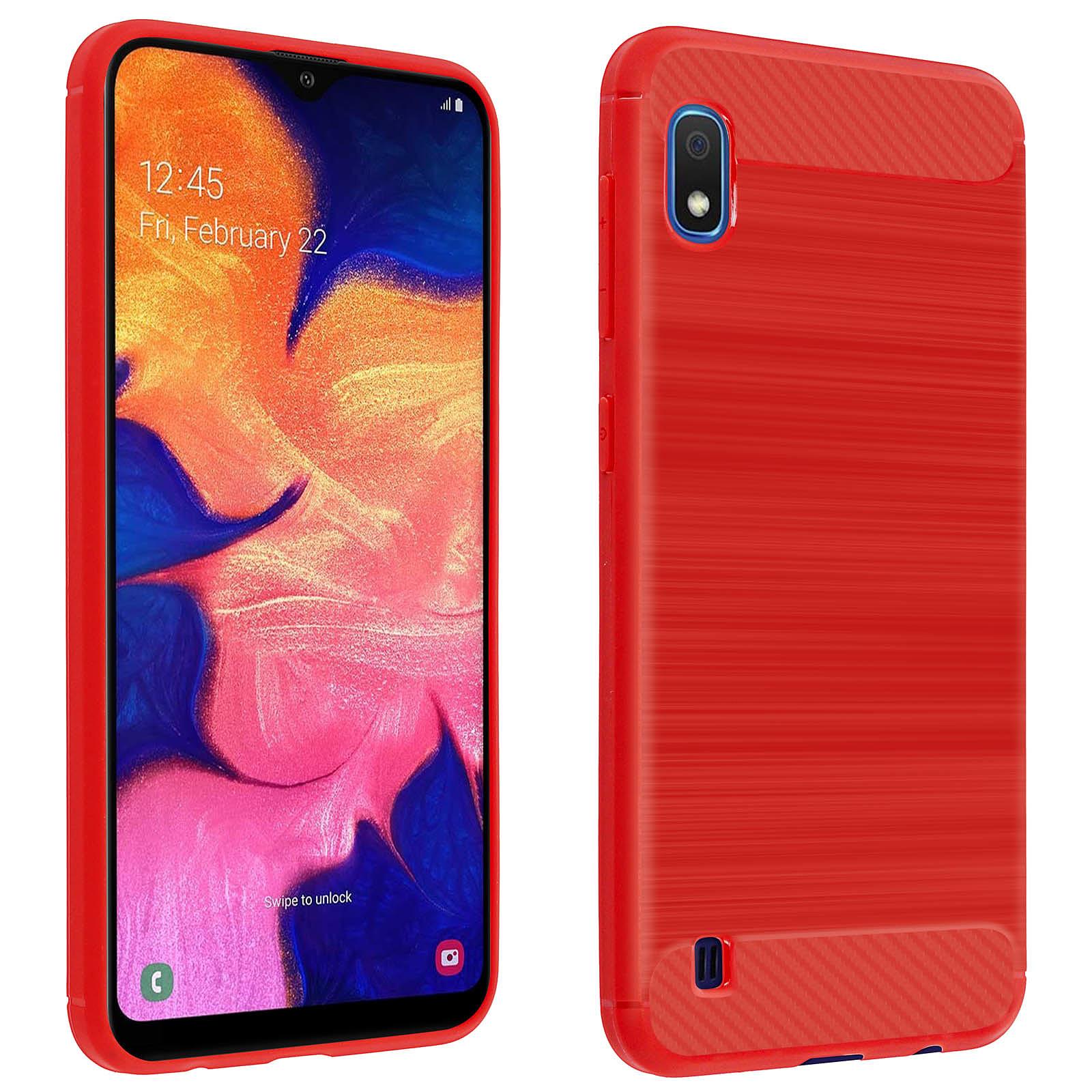 Avizar Coque Rouge pour Samsung Galaxy A10
