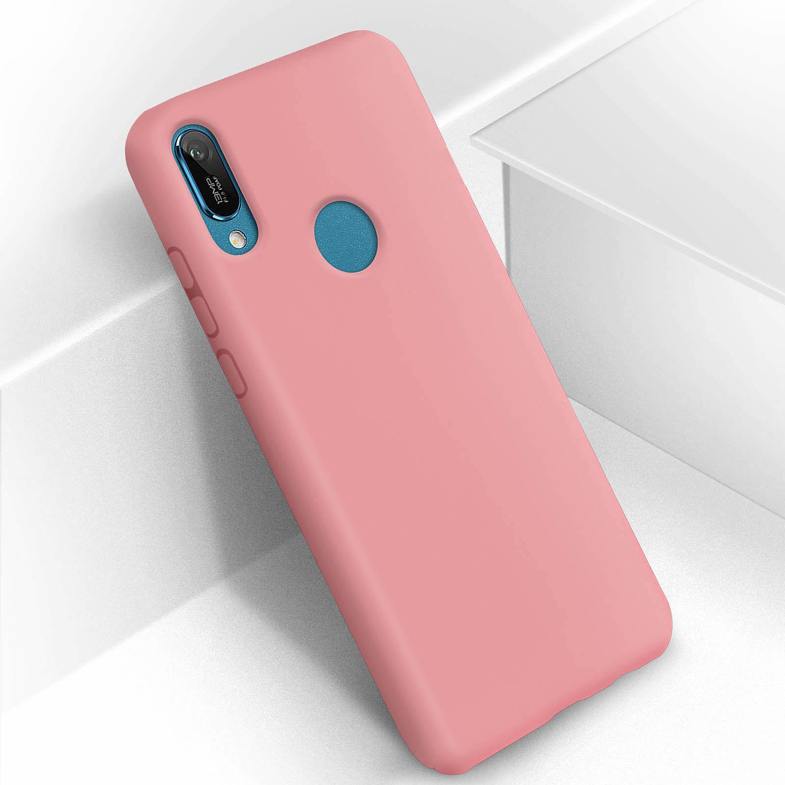 Avizar Coque Rose pour Huawei Y6 2019