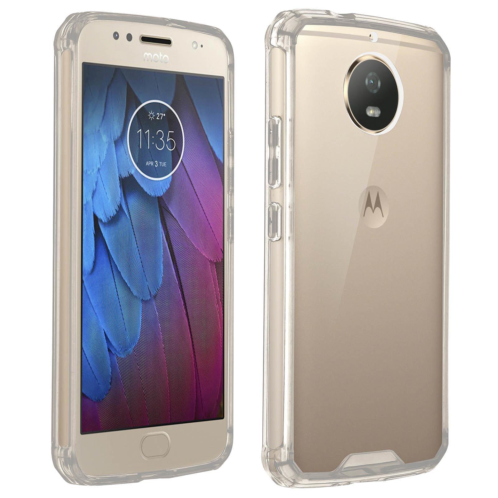 Avizar Coque Transparent pour Motorola Moto G5S