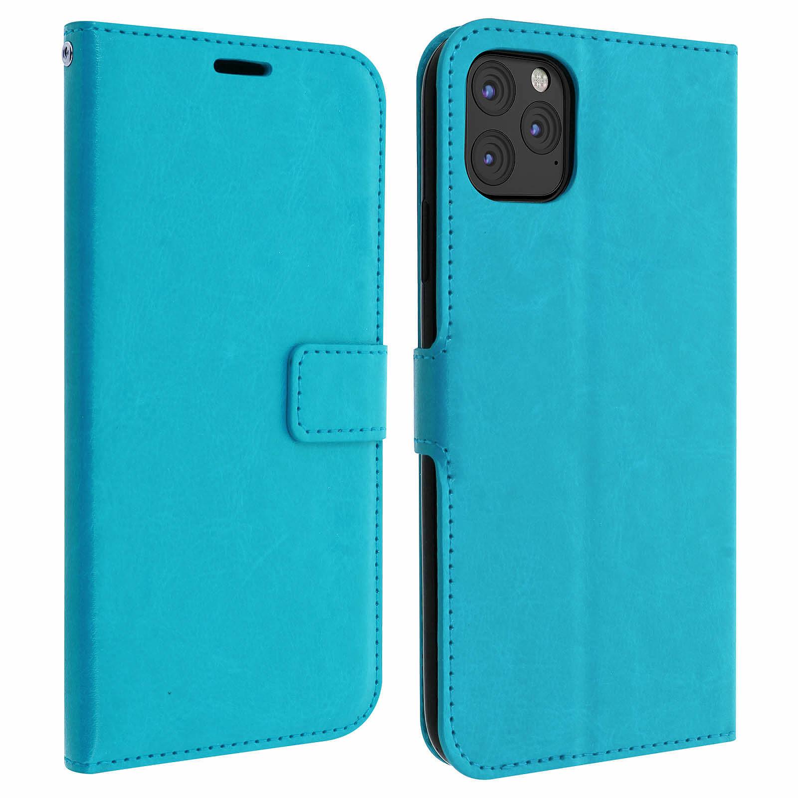 Avizar Etui folio Turquoise pour Apple iPhone 11 Pro
