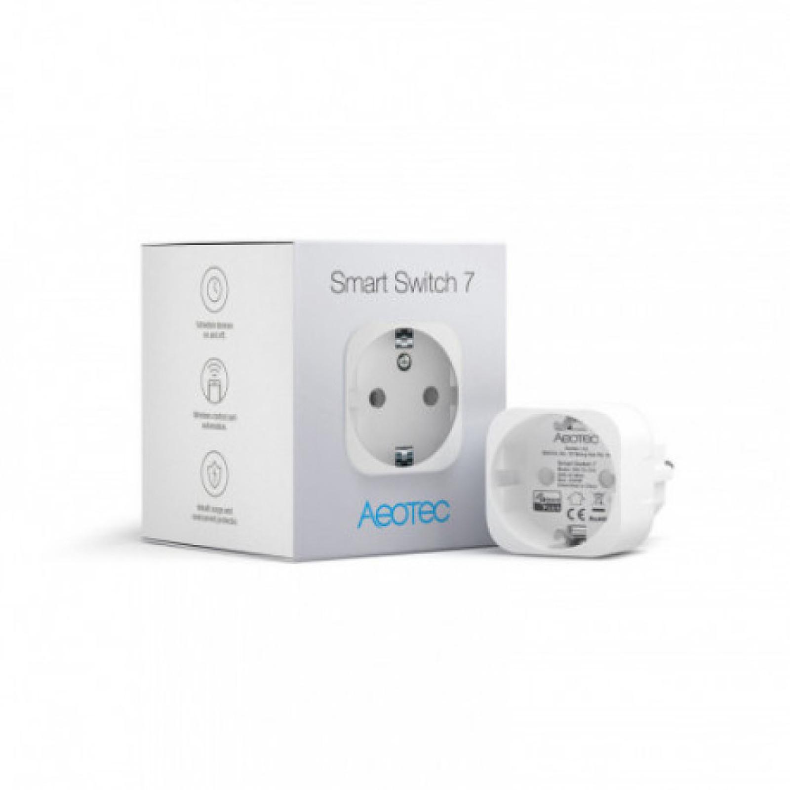 Aeotec Mini Prise Intelligente Z-wave+ Smart Switch 7 - Aeotec AEO_ZW175