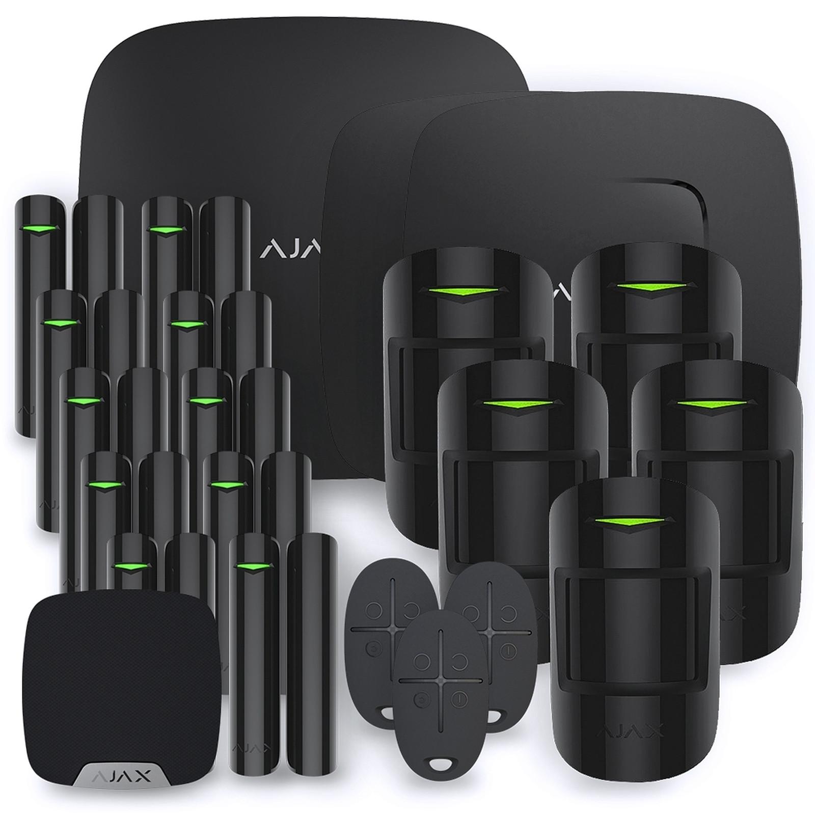 Ajax Alarme maison StarterKit noir  Kit 8
