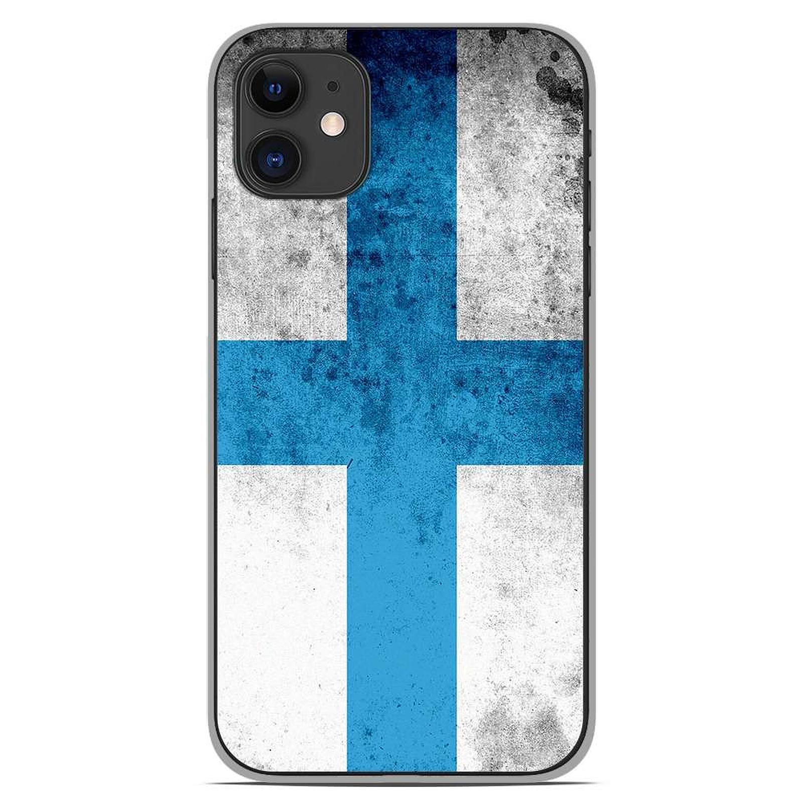 1001 Coques Coque silicone gel Apple iPhone 11 motif Drapeau Marseille