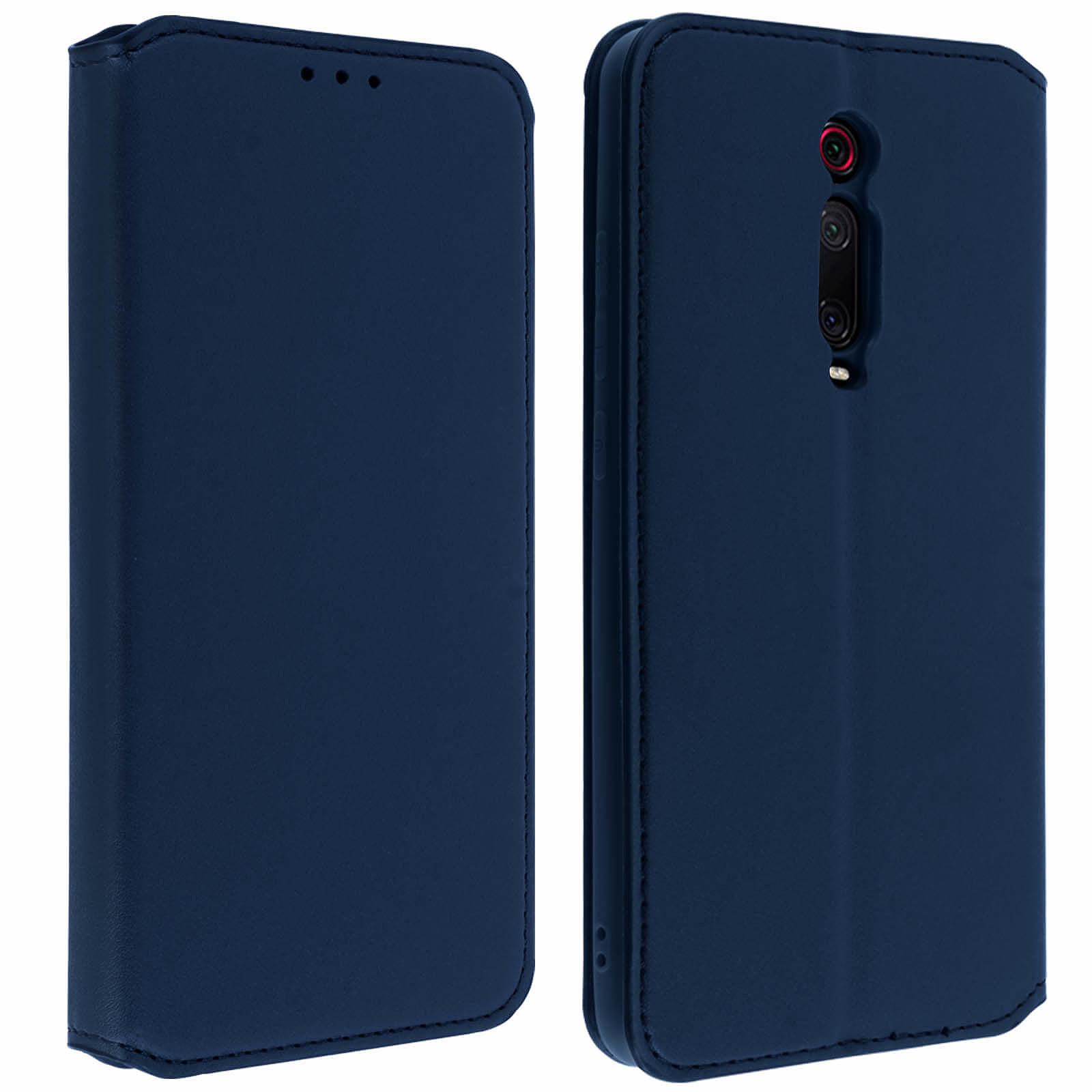 Avizar Etui folio Bleu Nuit pour Xiaomi Mi 9T , Xiaomi Mi 9T Pro