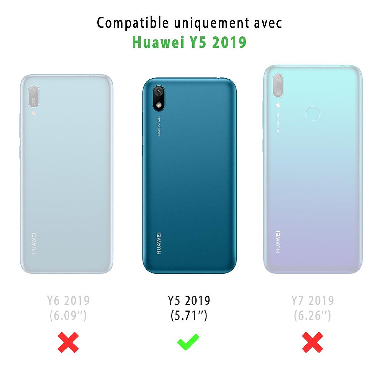 EVETANE Coque Huawei Y5 2019 souple transparente Brille comme une licorne