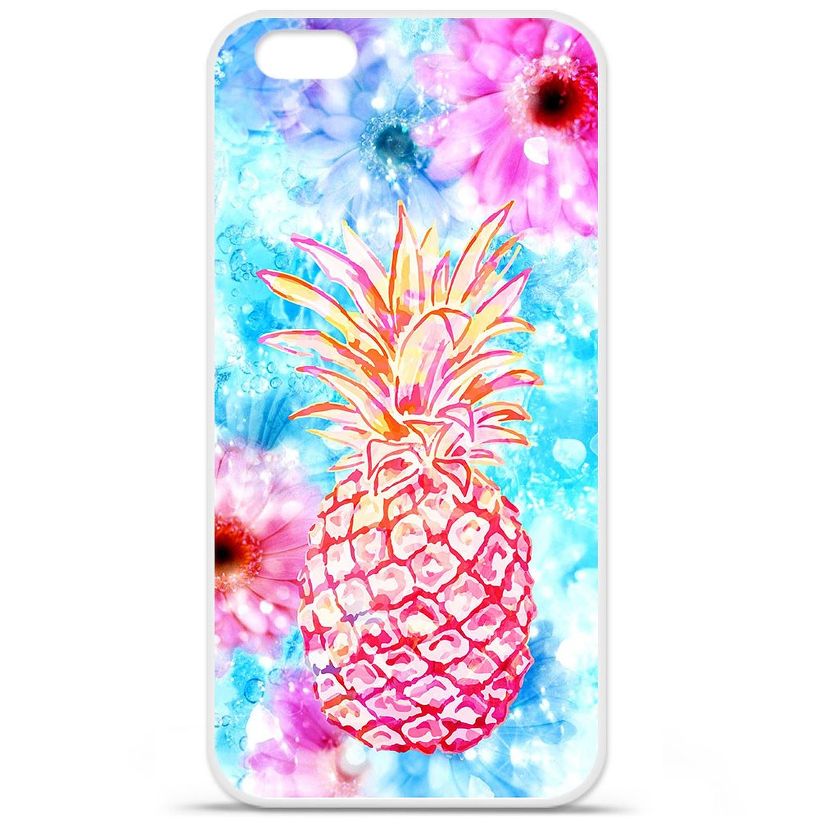 1001 Coques Coque silicone gel Apple IPhone 7 Plus motif Ananas