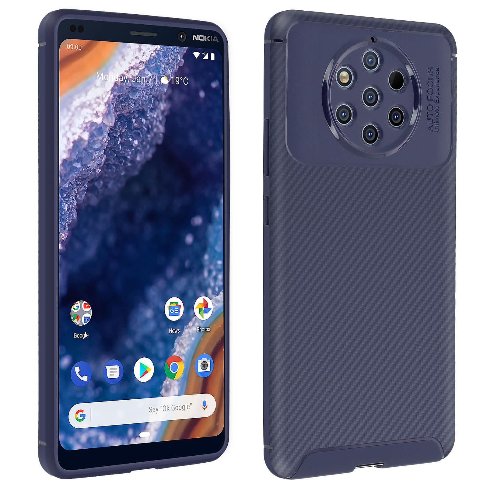 Avizar Coque Bleu Nuit pour Nokia 9 PureView