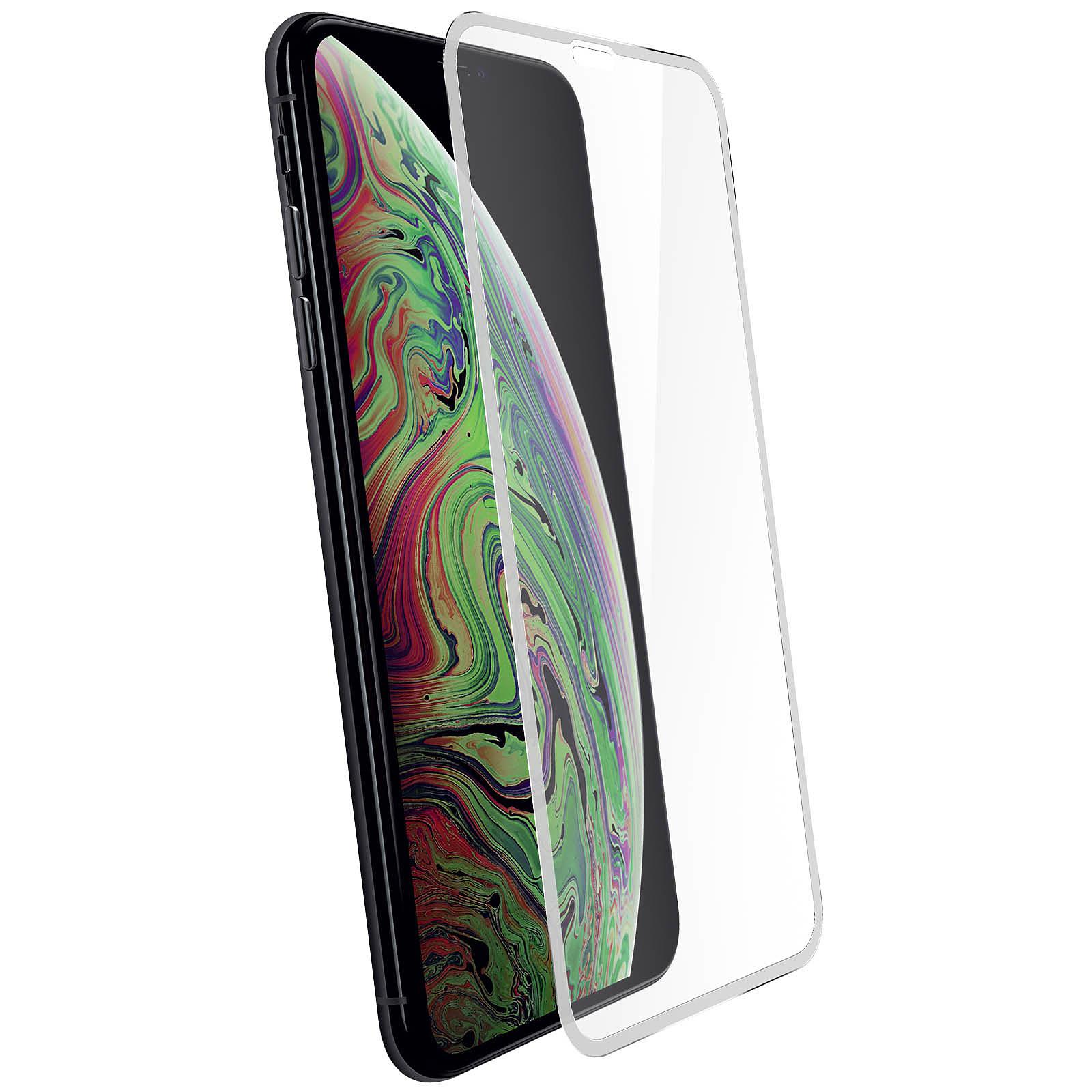 Avizar Film verre trempé Transparent Intégral pour Apple iPhone XS Max