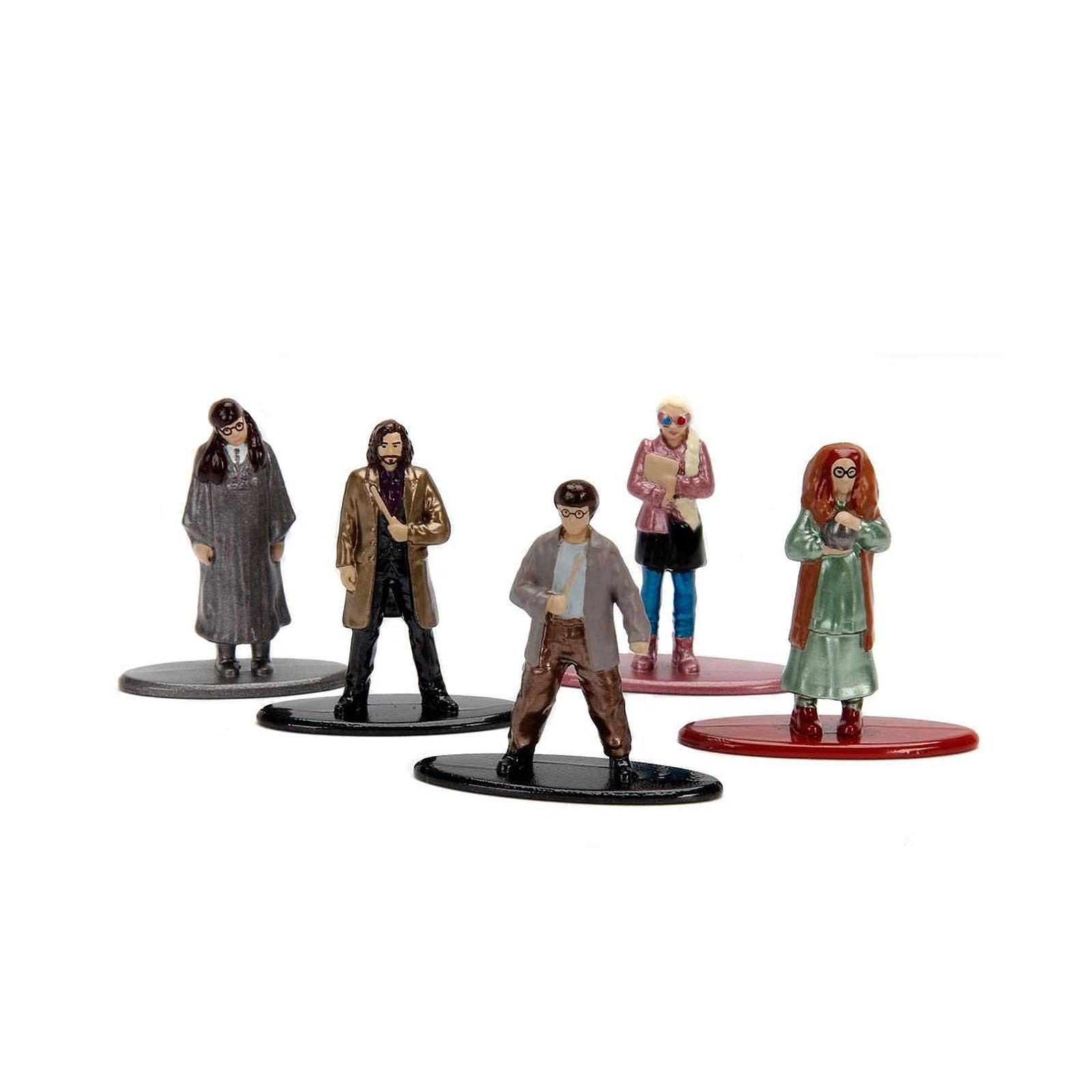 Harry Potter - Pack 5 figurines Diecast Nano Metalfigs Wave 3 4 cm