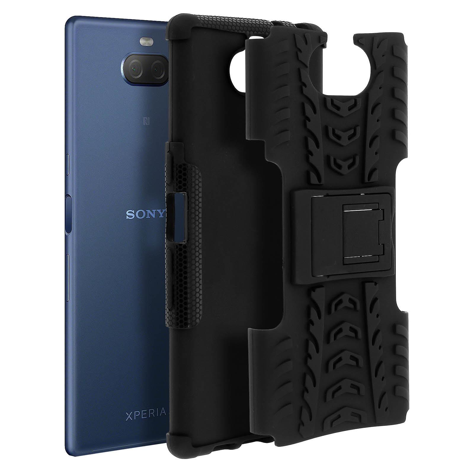 Avizar Coque Noir pour Sony Xperia 10 Plus