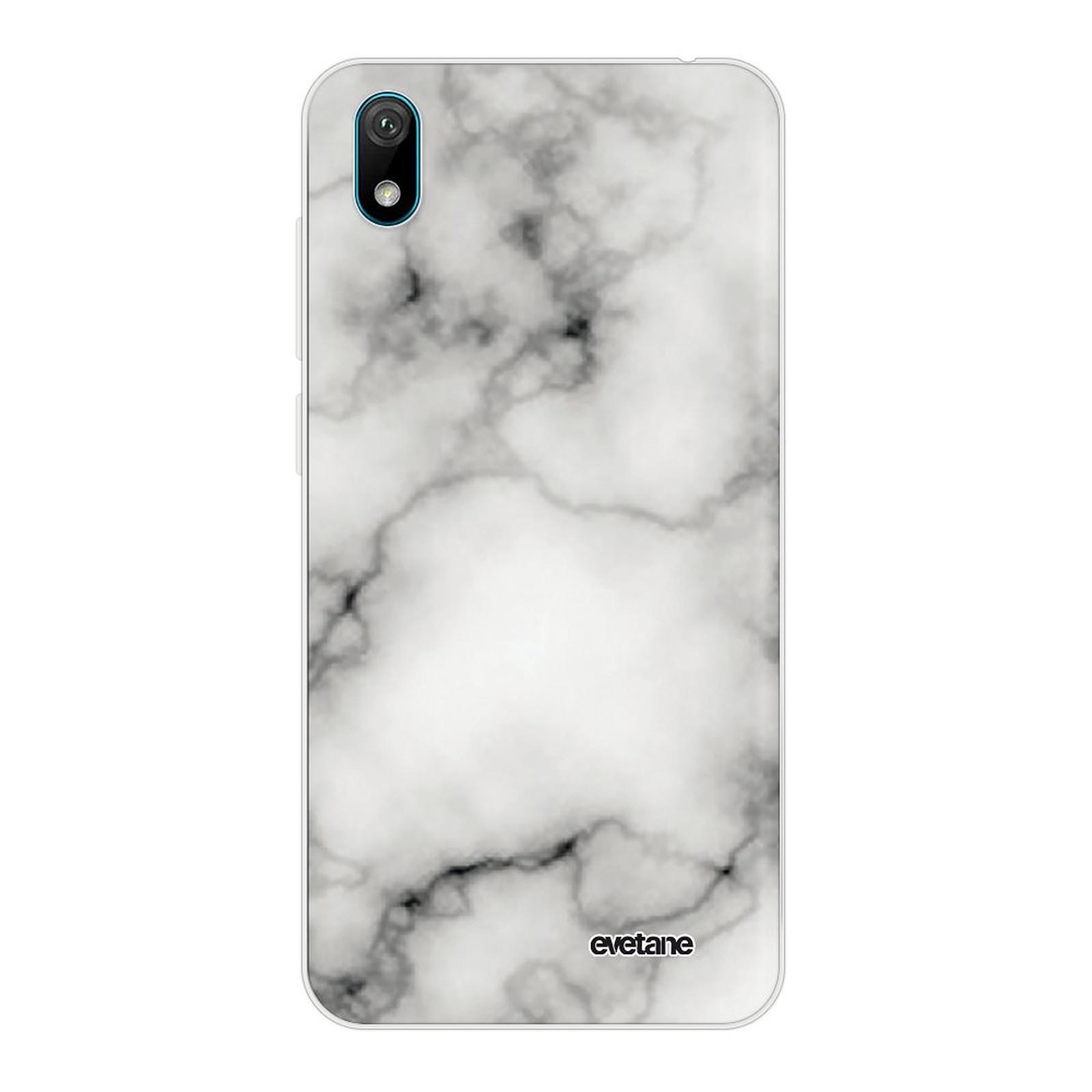 EVETANE Coque Huawei Y5 2019 360 intégrale transparente Marbre blanc Tendance - Coque téléphone Evetane sur LDLC