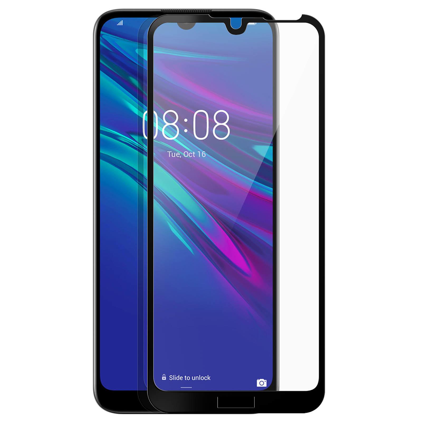 Avizar Film verre trempé Noir pour Honor 8A , Huawei Y6 2019 , Huawei Y6S