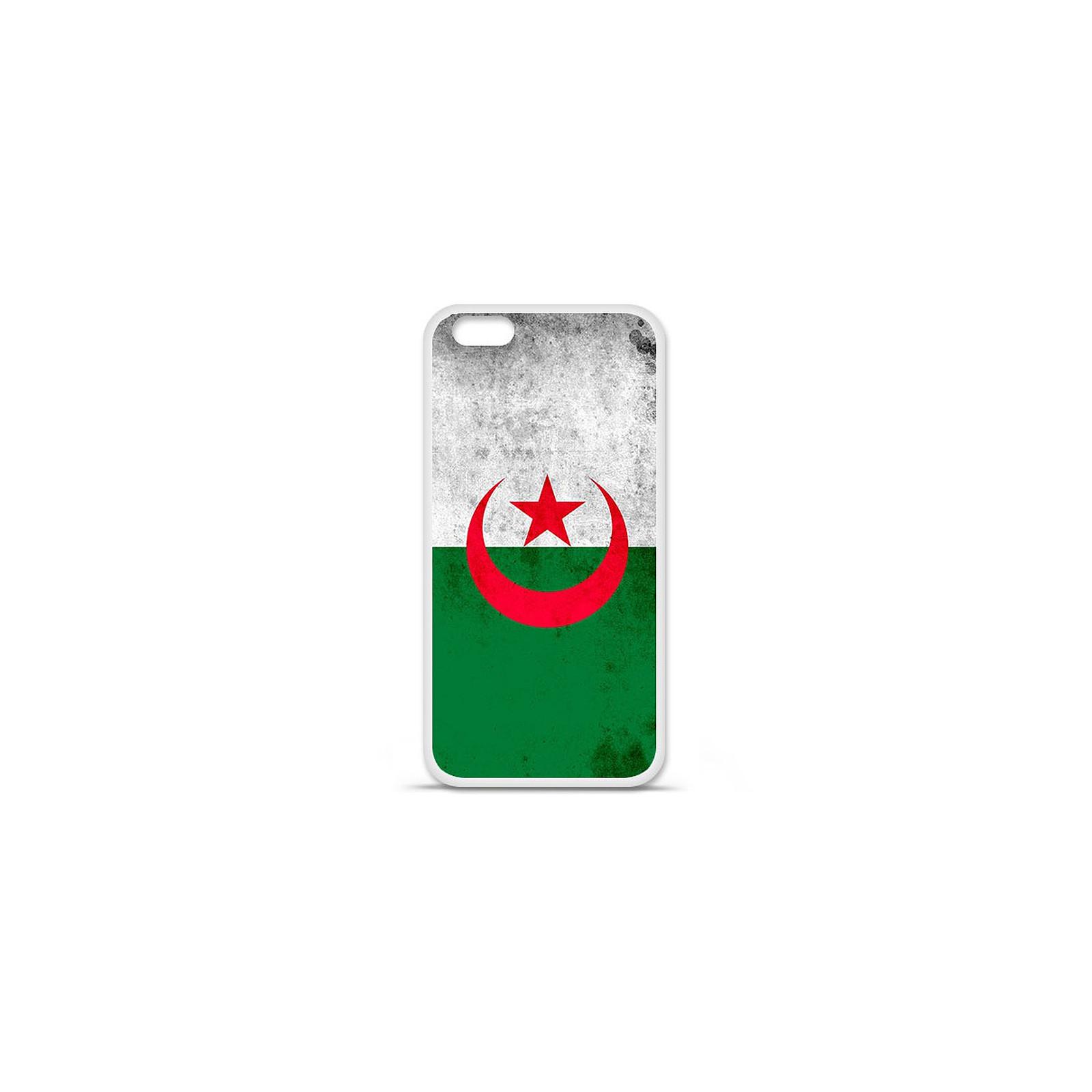 1001 Coques Coque silicone gel Apple IPhone 7 Plus motif Drapeau Algérie