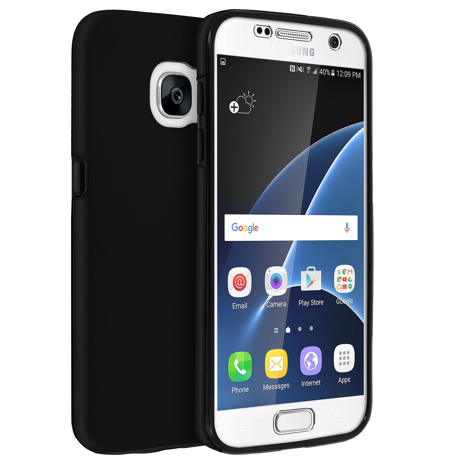 Avizar Coque Noir pour Samsung Galaxy S7