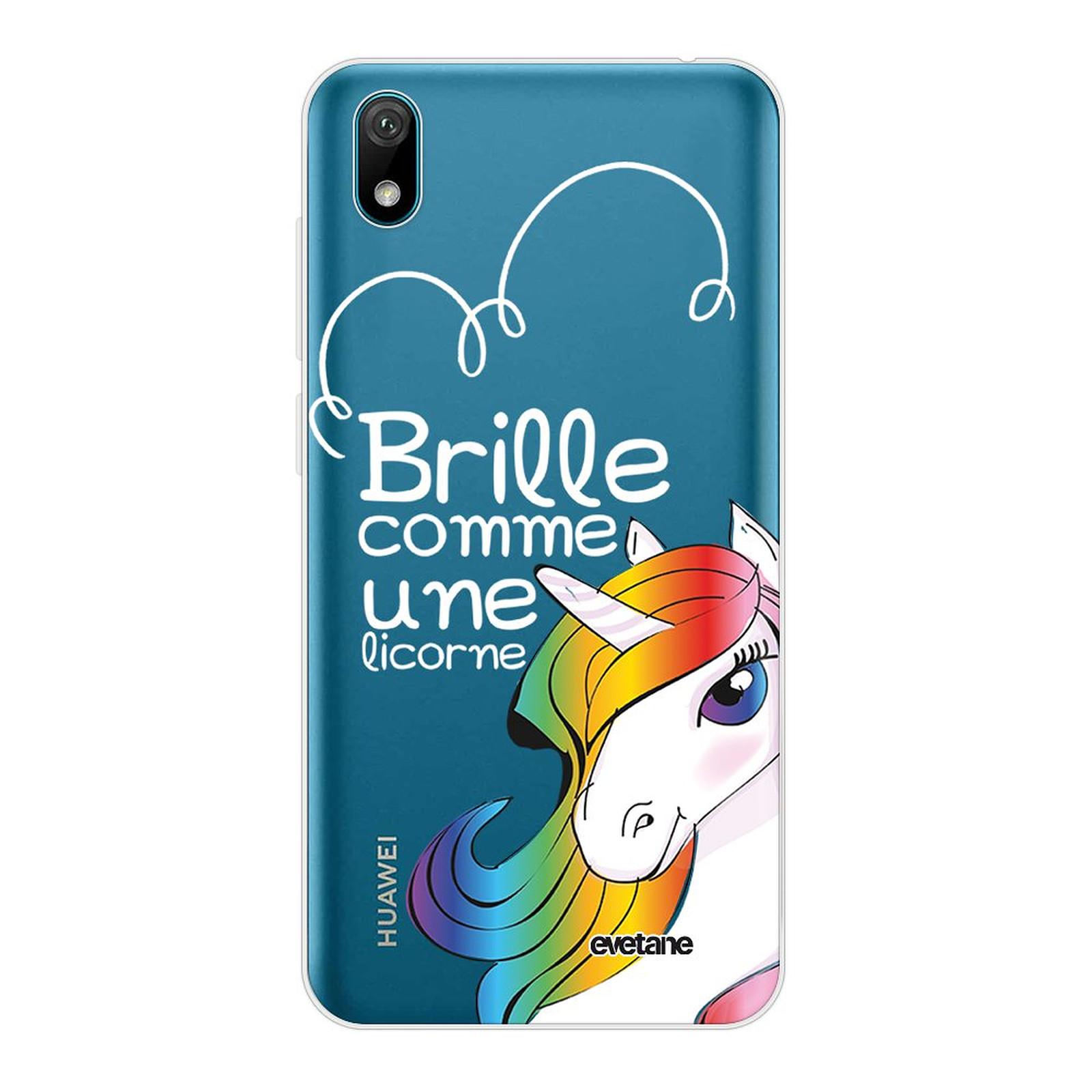 EVETANE Coque Huawei Y5 2019 360 intégrale transparente Brille comme une licorne Tendance - Coque téléphone Evetane sur LDLC