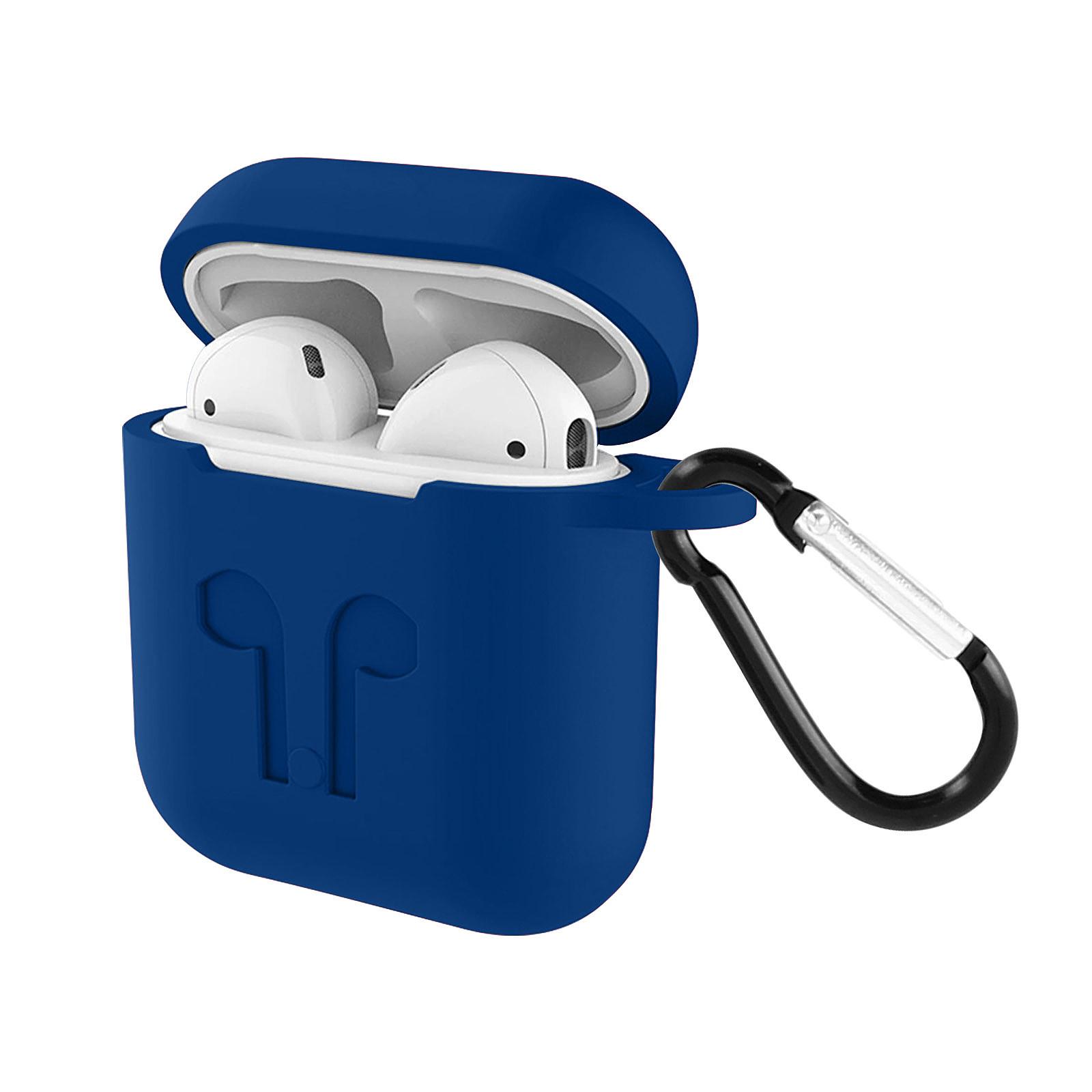 Avizar Coque Bleu Nuit pour Apple AirPods 1 et 2